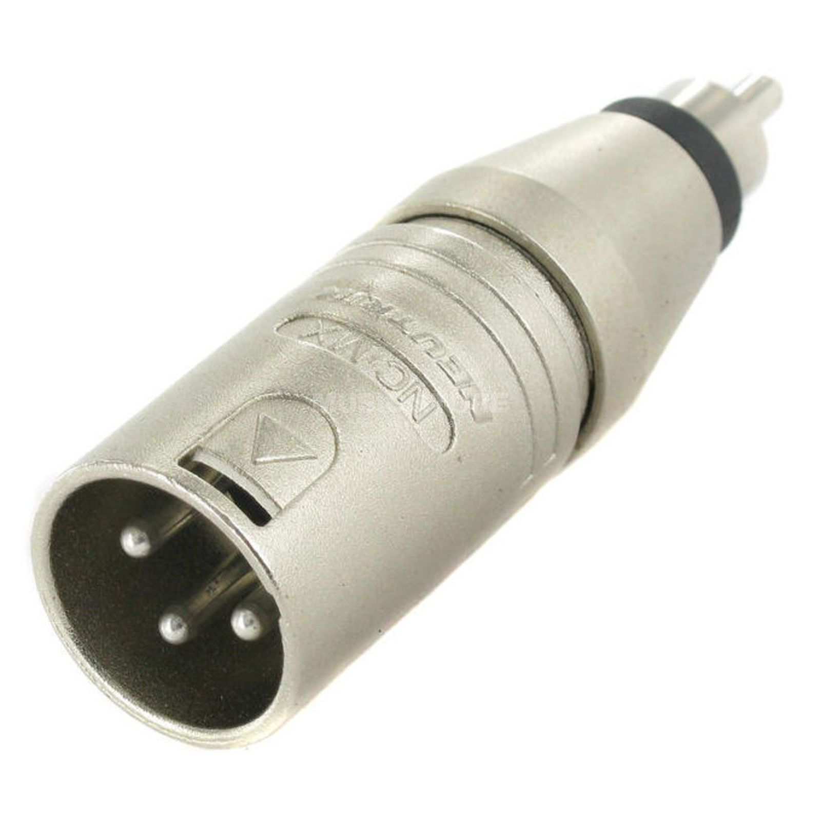 Neutrik NA2MPMF Adapter XLR-Cinch XLR male-Cinch (RCA) male Produktbillede