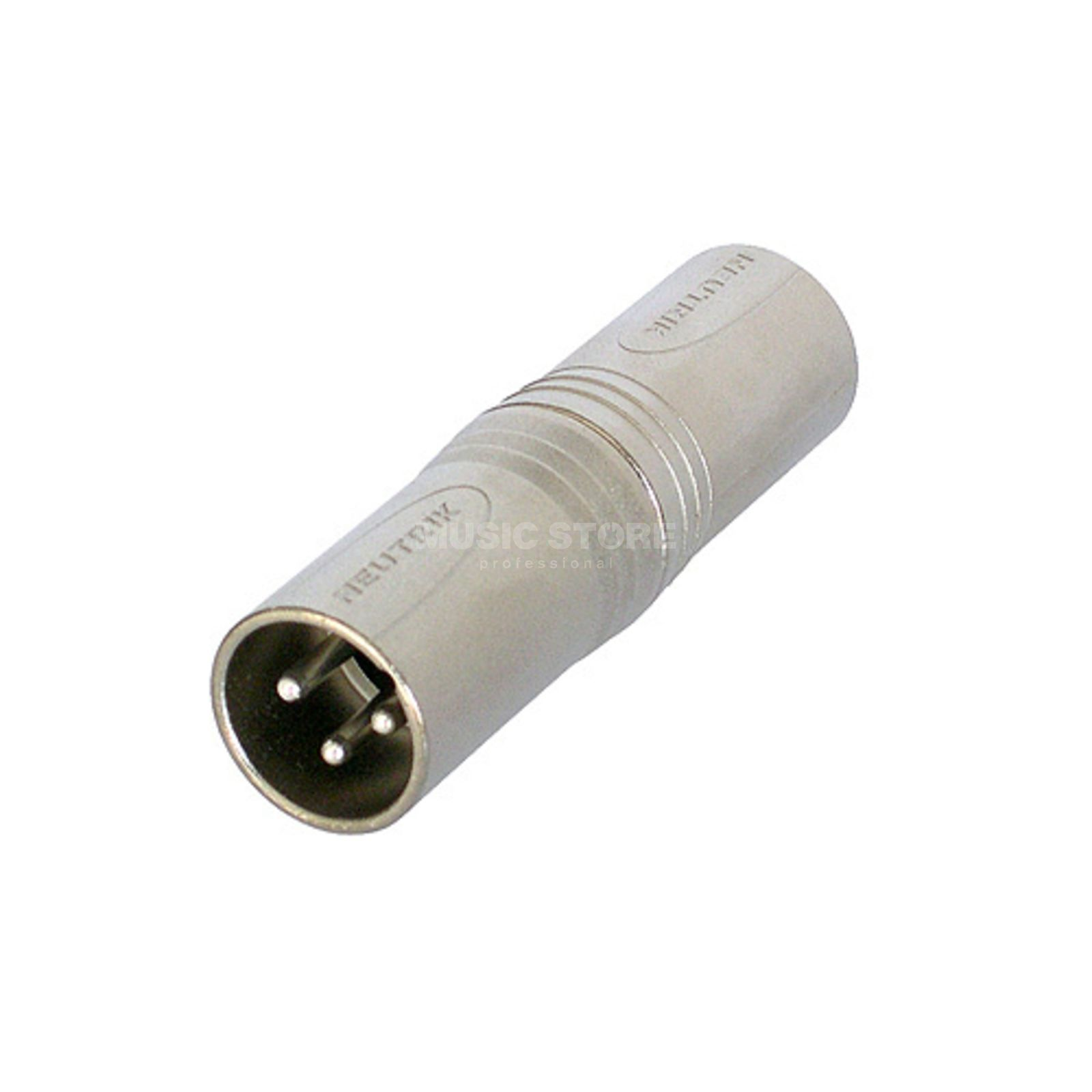 Neutrik NA3MM Adapter XLR-XLR XLR male-XLR male Product Image