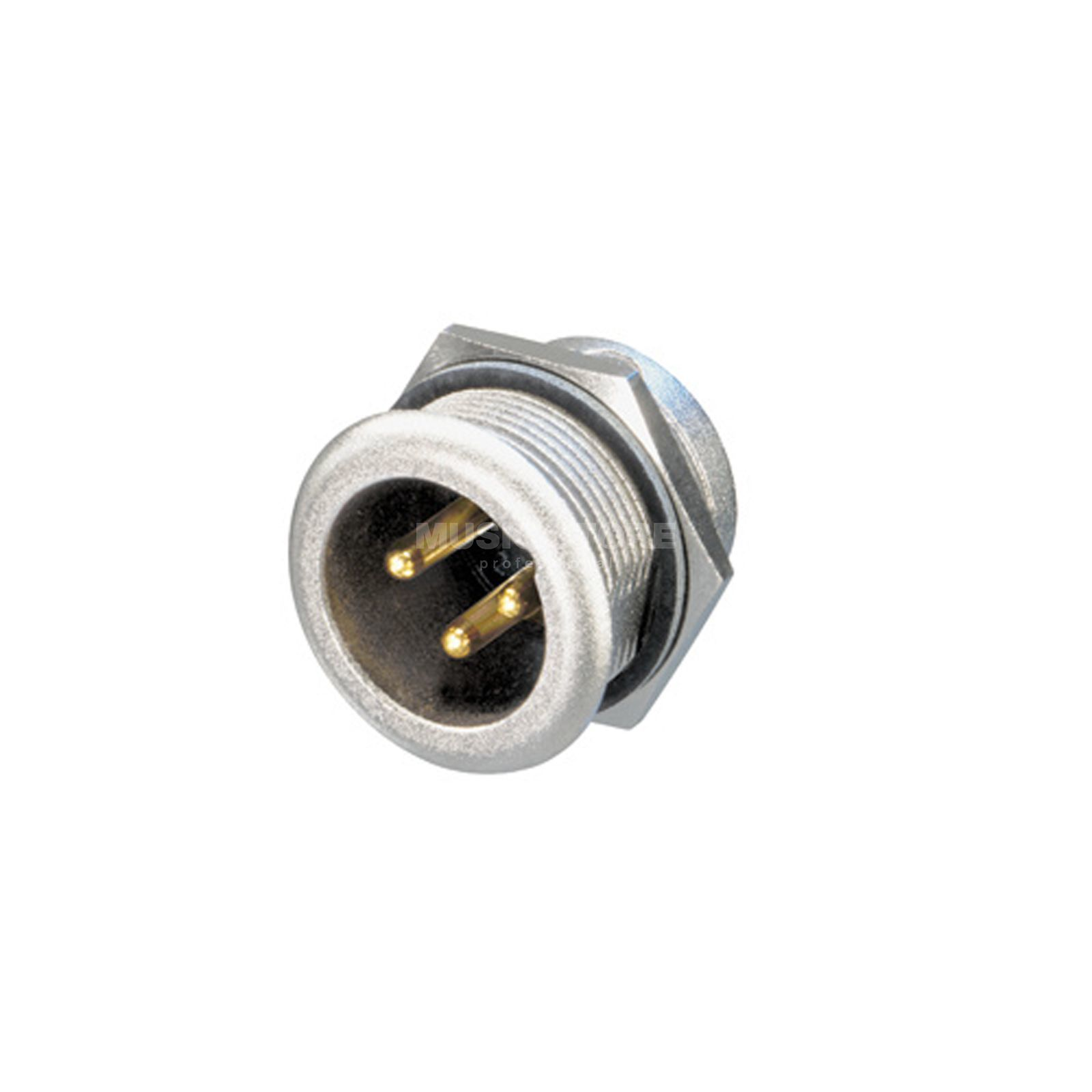 Neutrik NC3MPR-HD Chassis Connector male, 3-pole Produktbillede