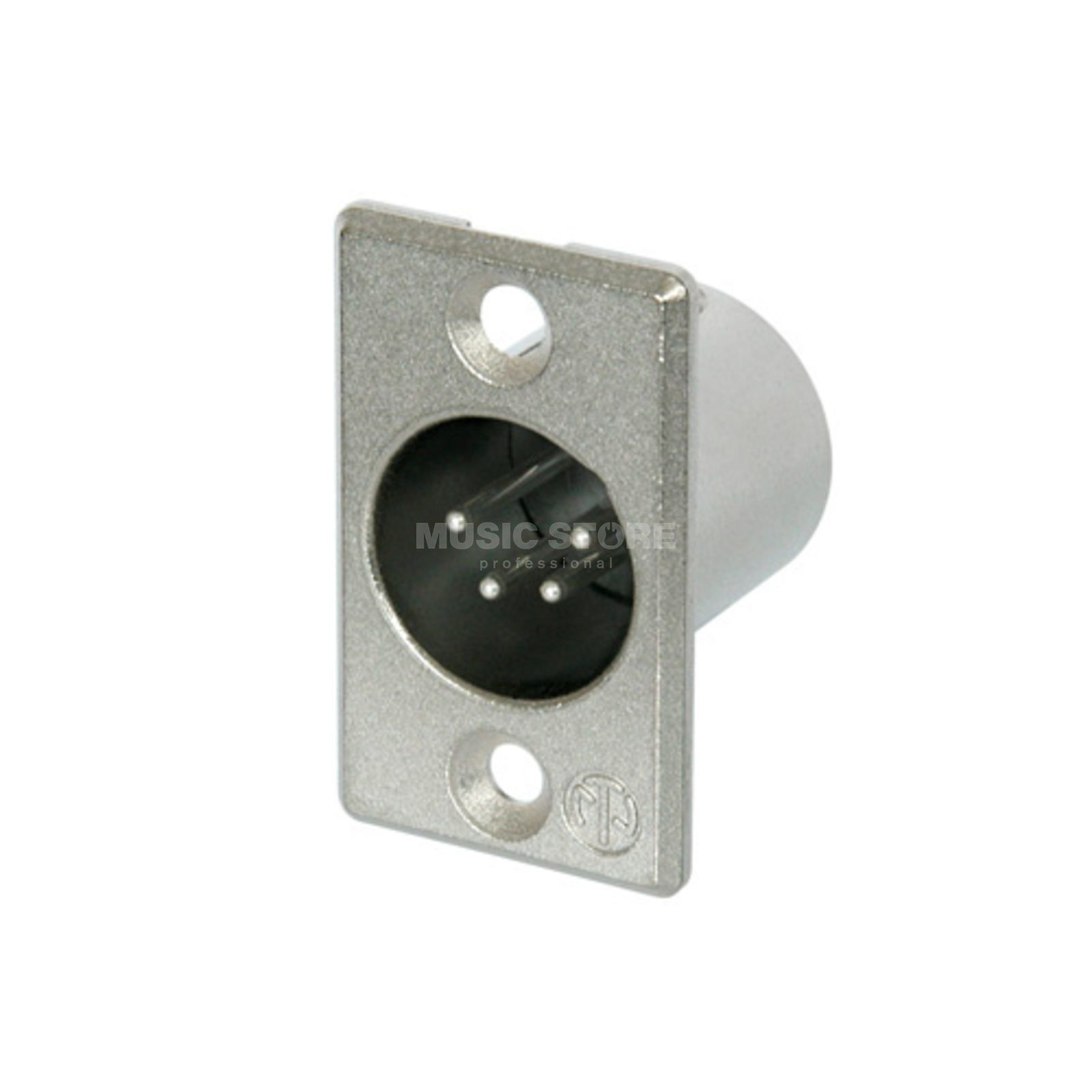 Neutrik NC4MP Chassis Connector male, 4-pole Produktbillede