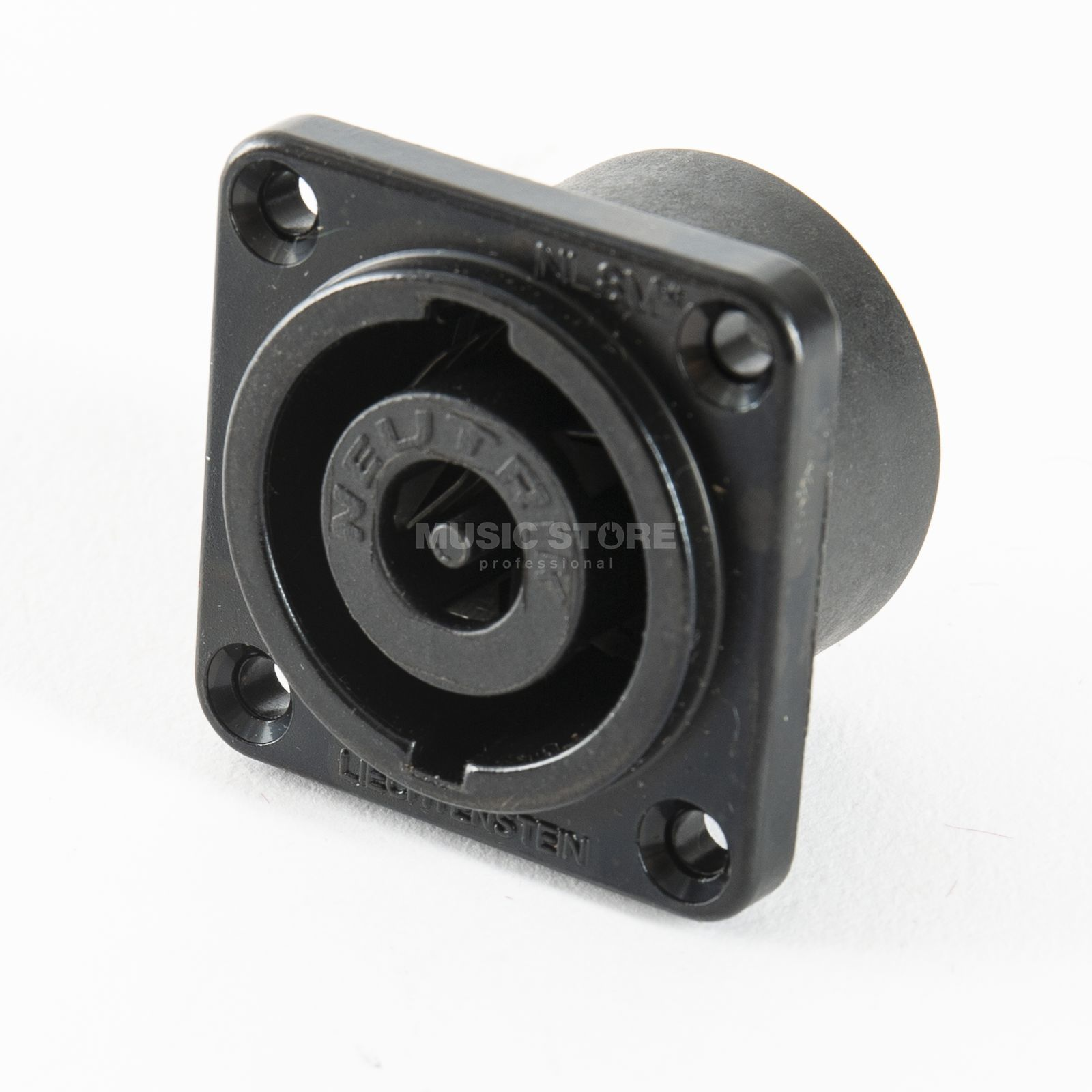 Neutrik NL8MD-V-BAG Speakon Chassis Connector 8-pole G-Size black chrome Product Image