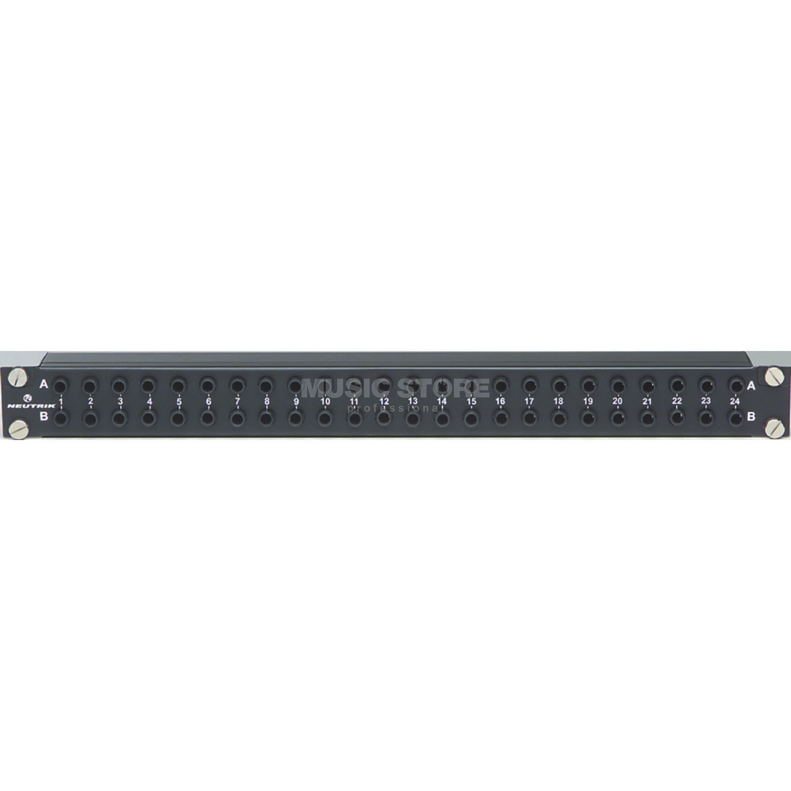 "Neutrik NYS-SPP Patchbay 6,3mm Jack  48x In/Out, 19"" 1HE Produktbillede"