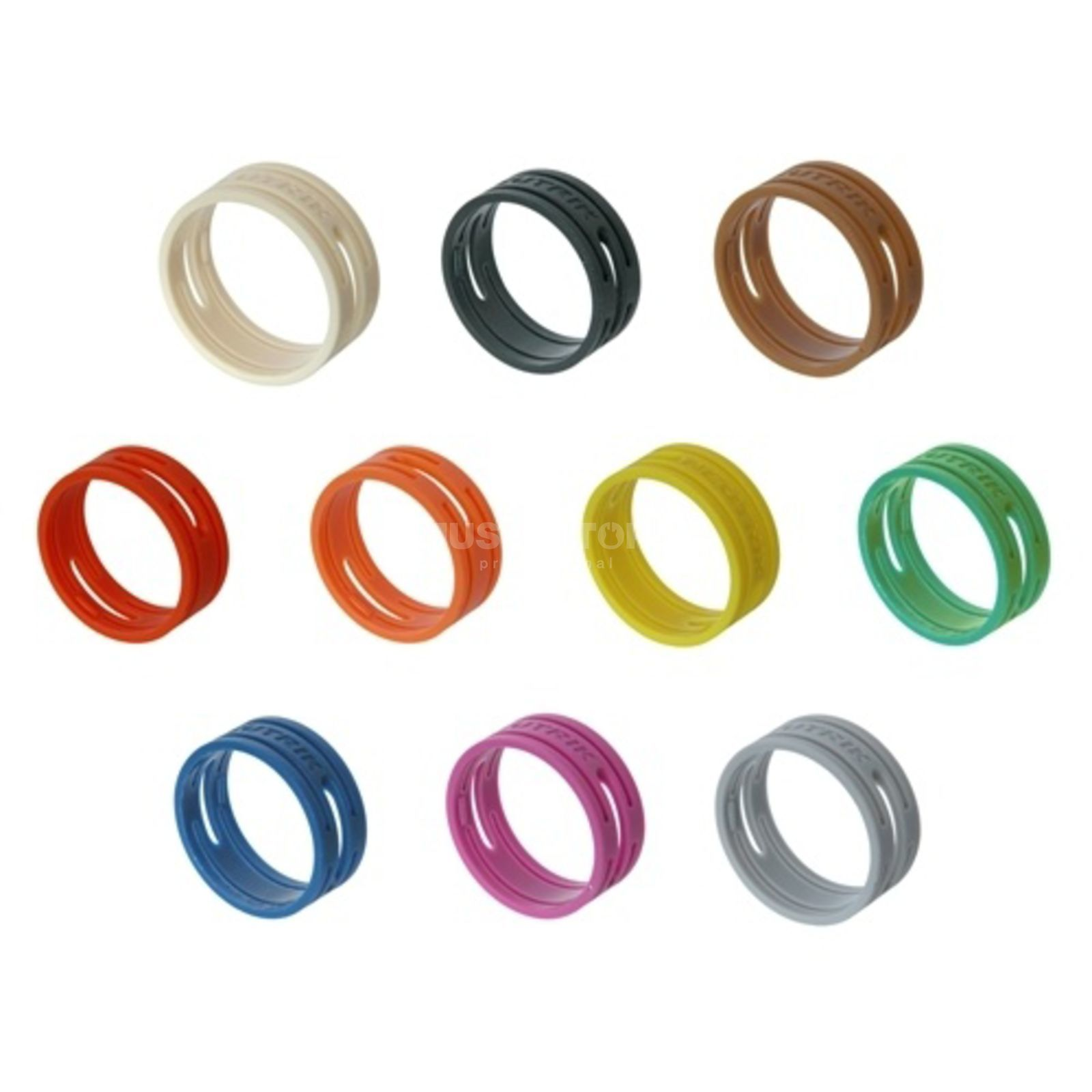 Neutrik XXR8 Coding Ring grey Neutrik XX Series Produktbillede