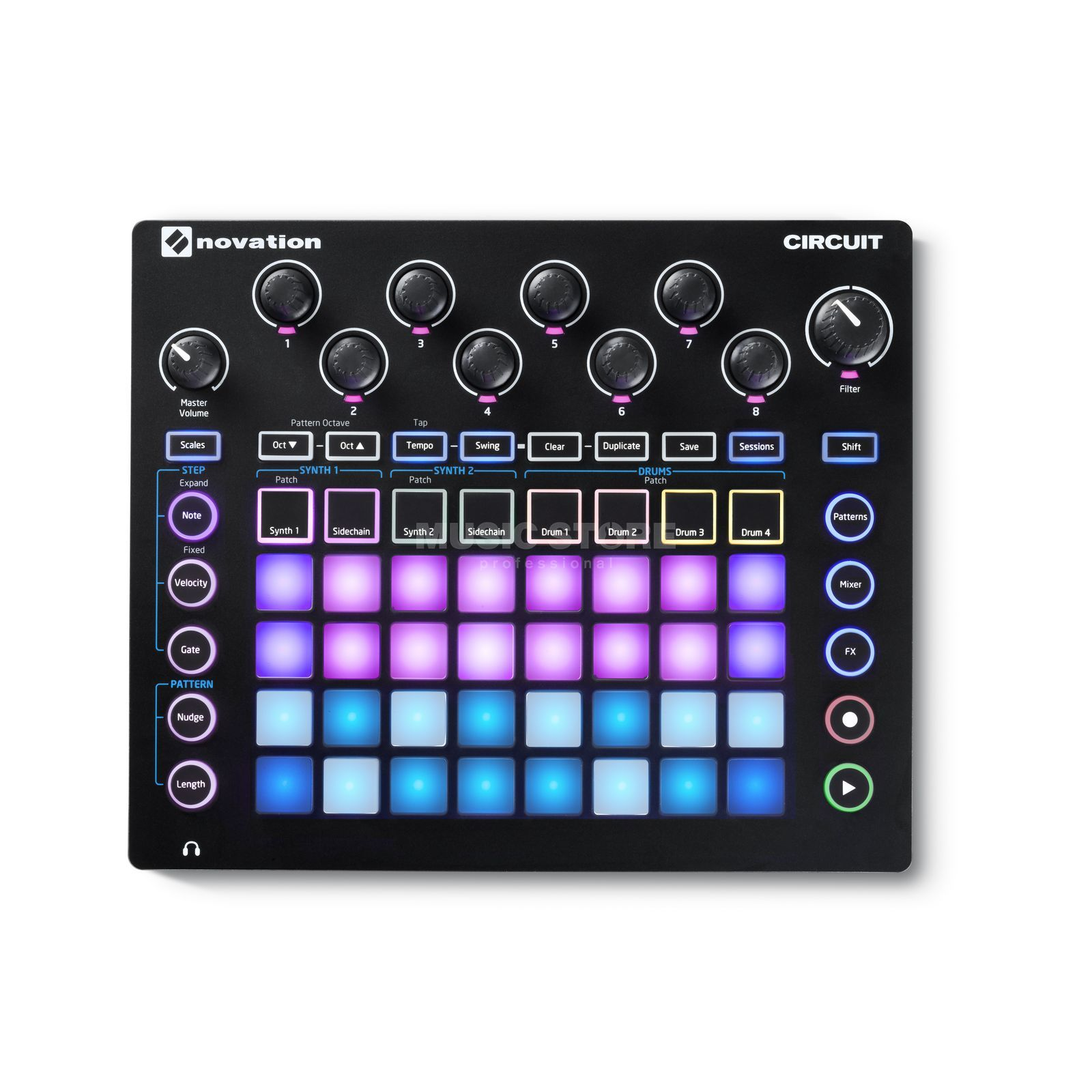 Novation Circuit Grid-based Groovebox Produktbillede