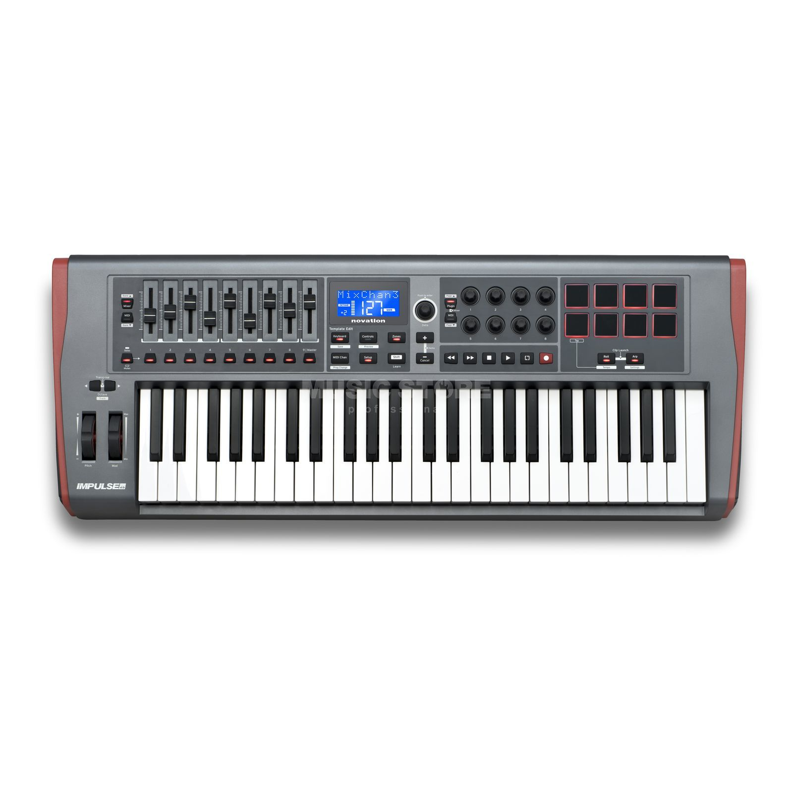 Novation Impulse 49 Produktbild