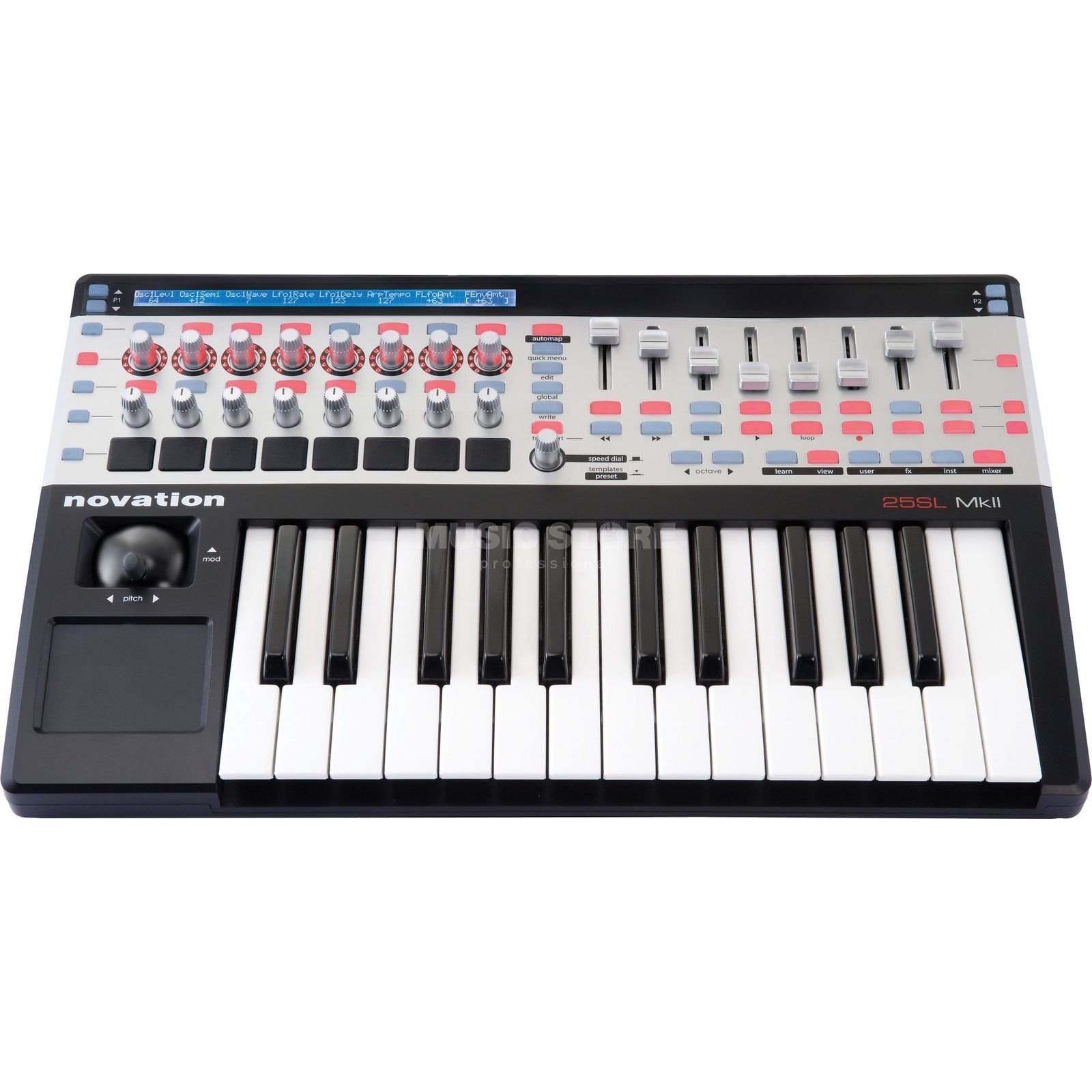 Novation ReMOTE SL MkII 25 USB Controller Keyboard Produktbillede