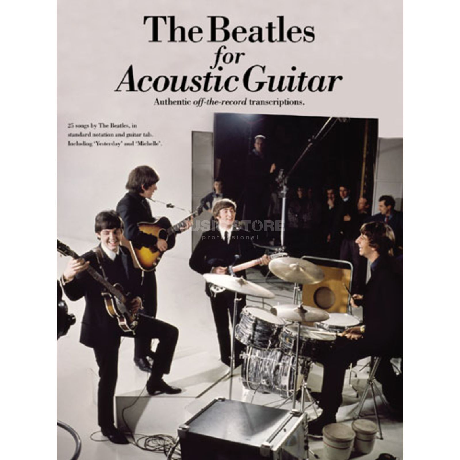 Novello Beatles For Acoustic Guitar TAB Produktbillede