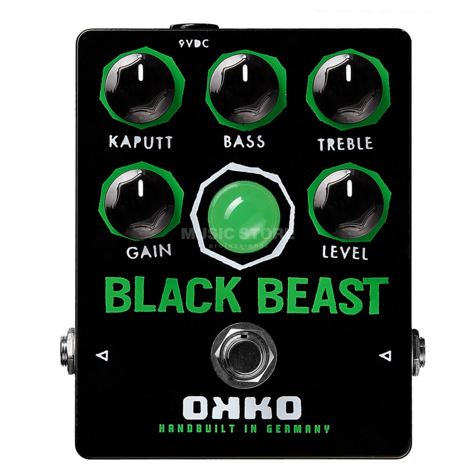 OKKO Guitar Effects Black Beast Fuzz Produktbild