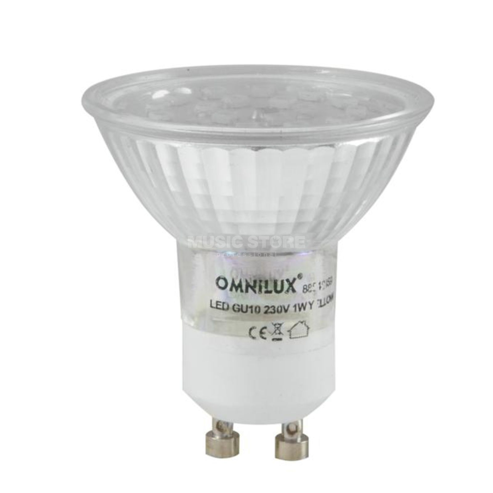 Omnilux GU-10 230V 18x 1W LED Yellow Led Lamp Produktbild