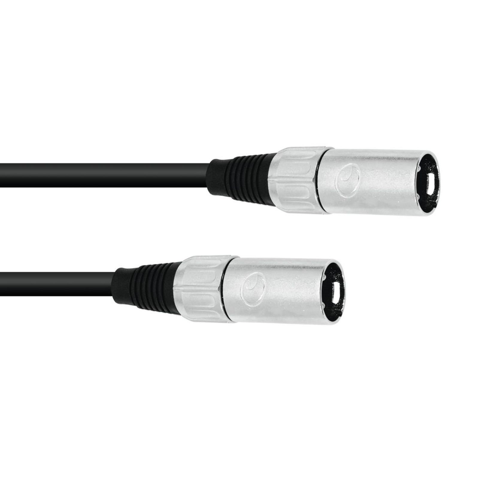 Omnitronic Adapter Cable XLR(M)/XLR(M) 0.2m Black Product Image