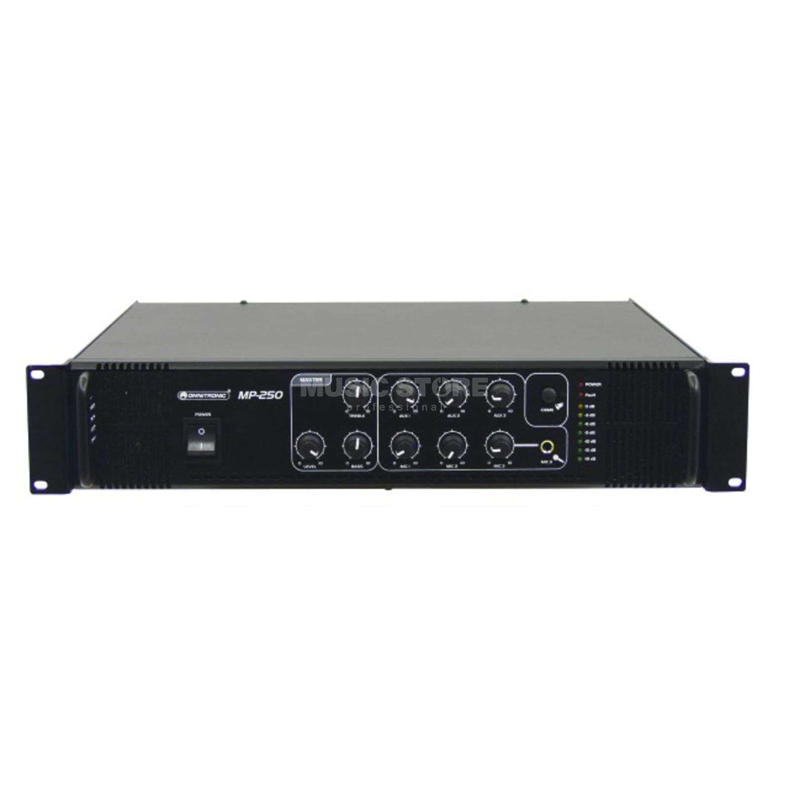 Omnitronic MP-250 ELA-Mix - Amplifier Mono Product Image