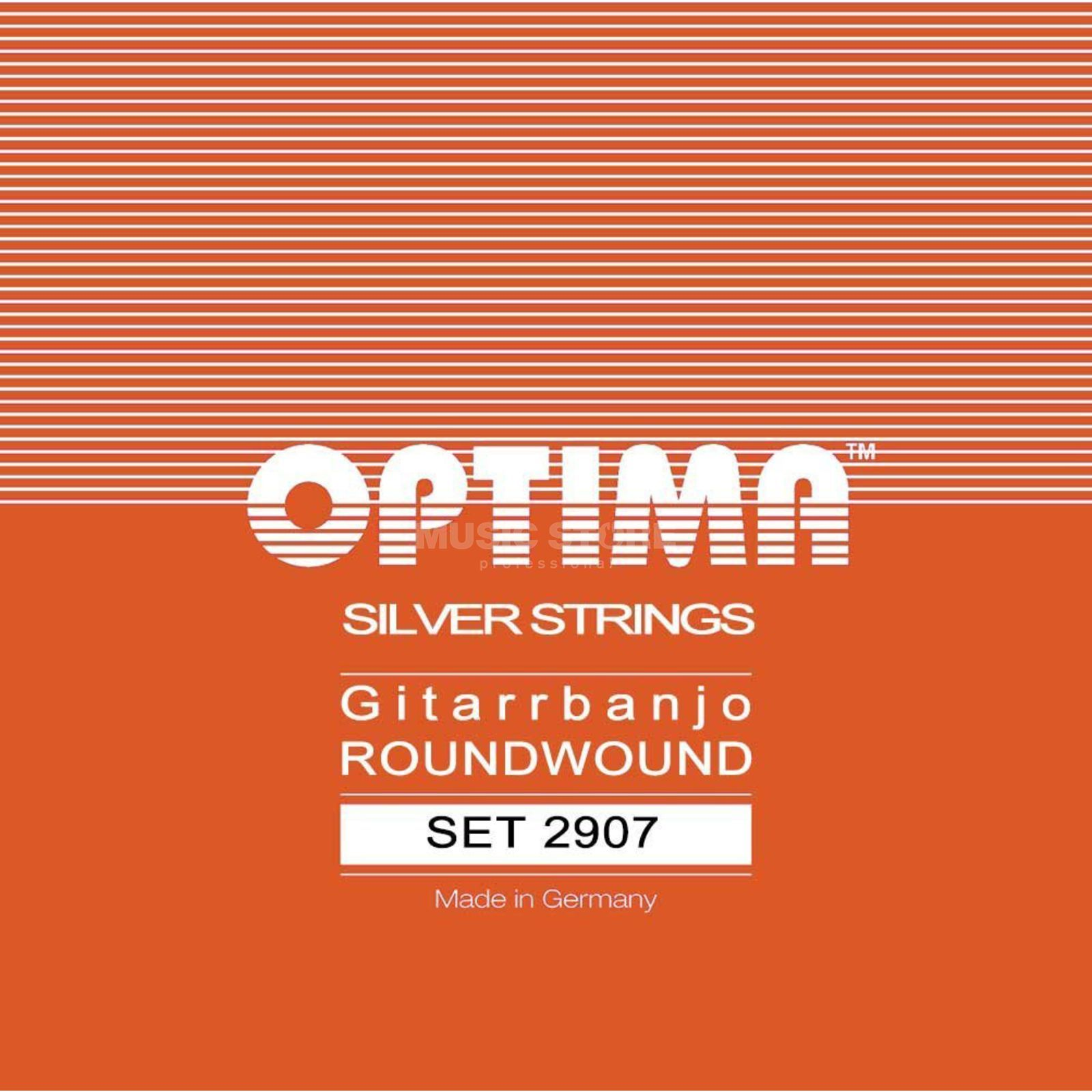 Optima Banjo Strings 2907 12-47 6-String Loop End Produktbillede
