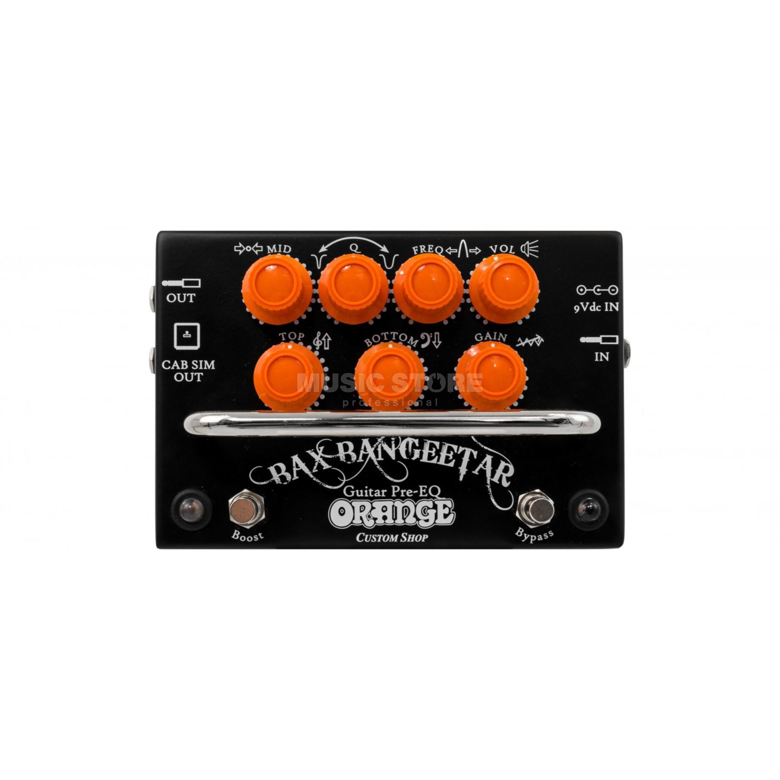 Orange Bax Bangeetar Guitar Pre-EQ Black Изображение товара