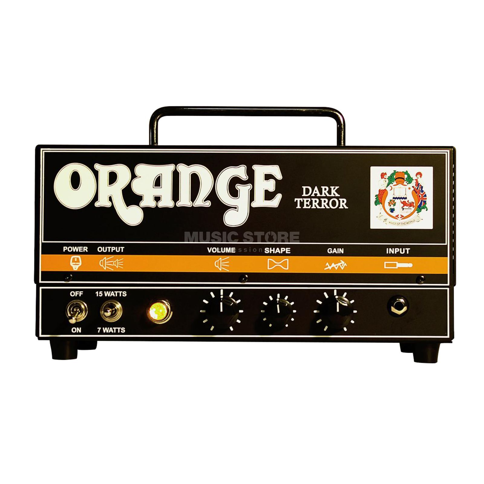 Orange Dark Terror Head 15W Produktbild