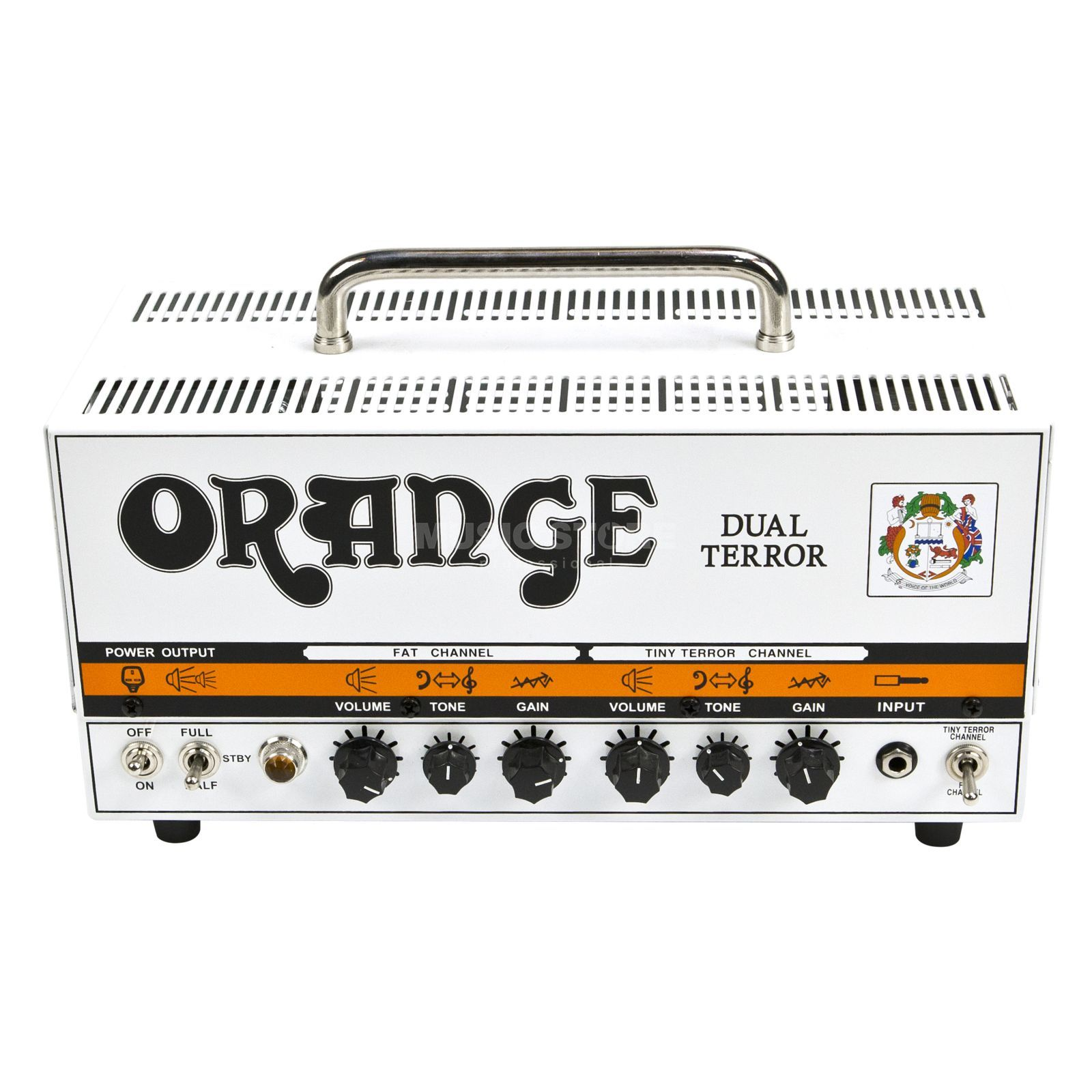 Orange Dual Terror Head Produktbild