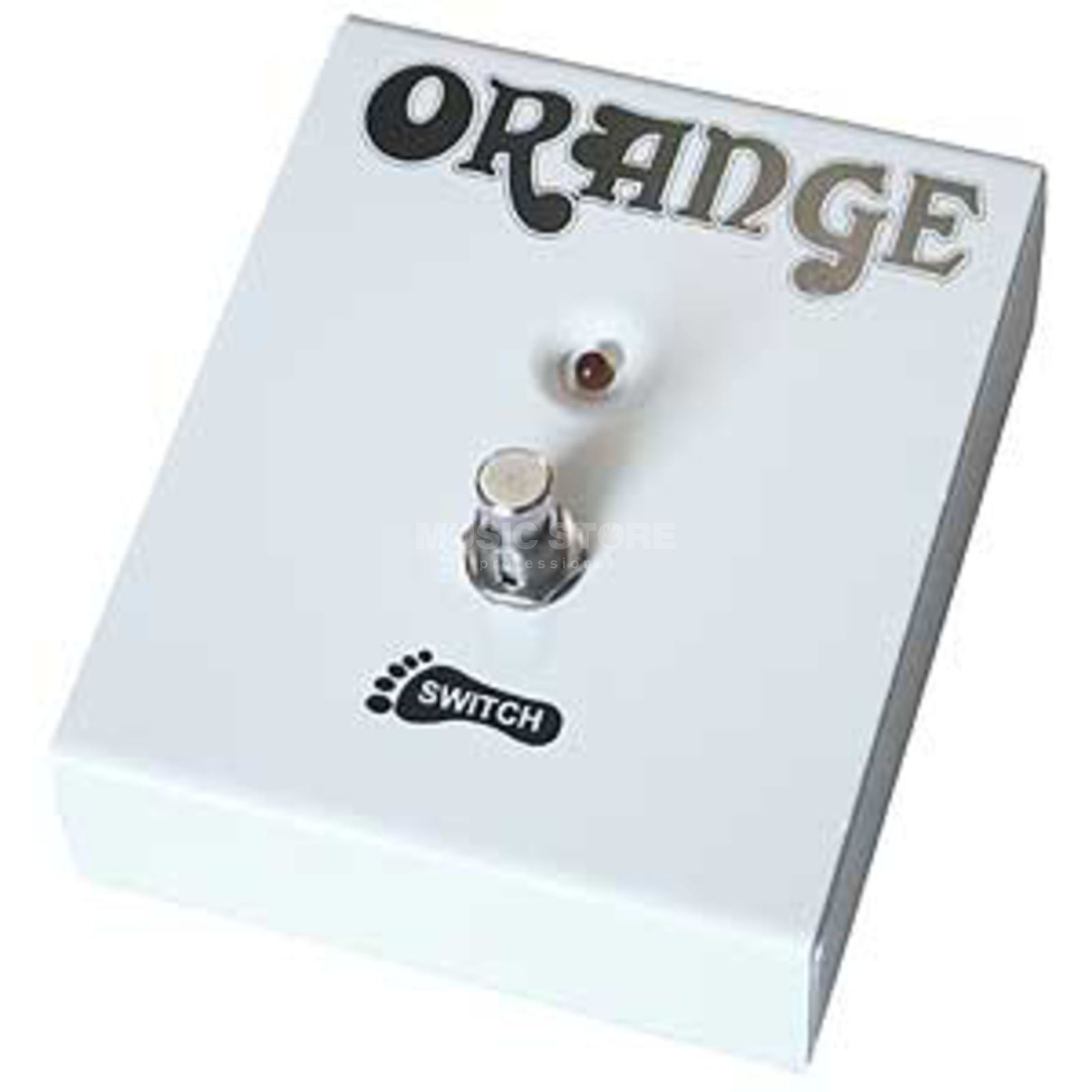 Orange Foot Switch with LED    Produktbillede