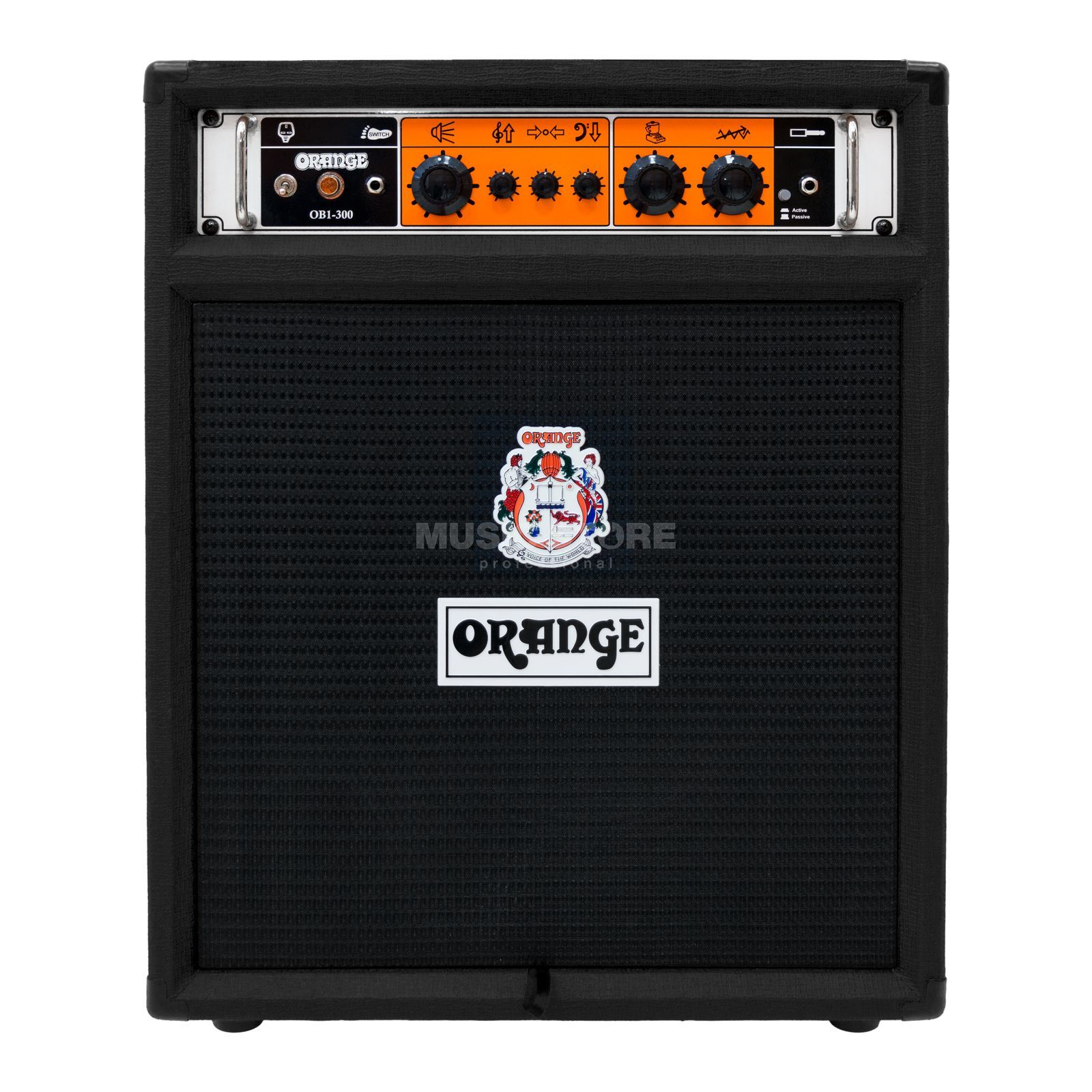 Orange OB1-300 Bass Combo black Produktbillede