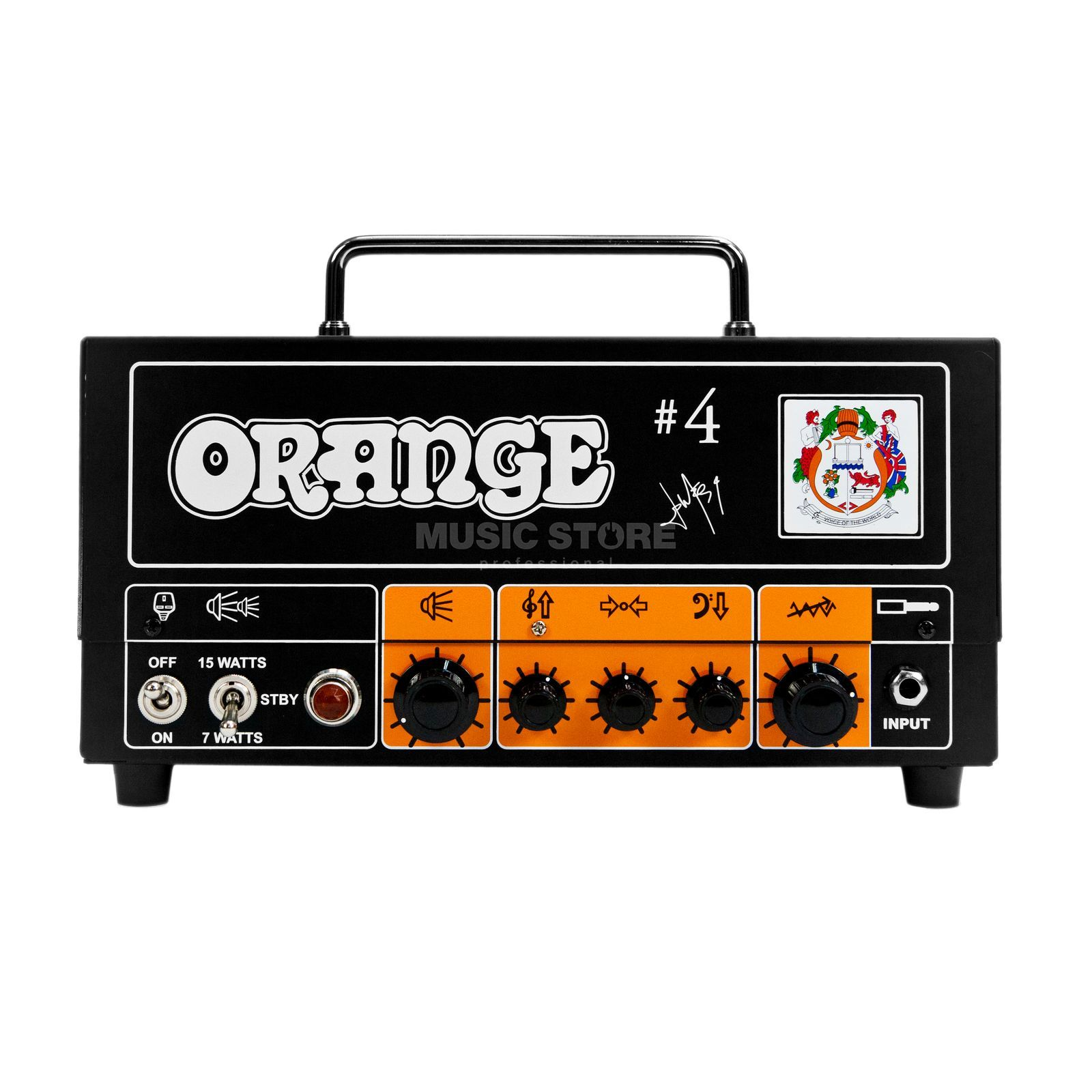 Orange Signature #4 Jim Root Terror G uitar Amplifier Head   Produktbillede
