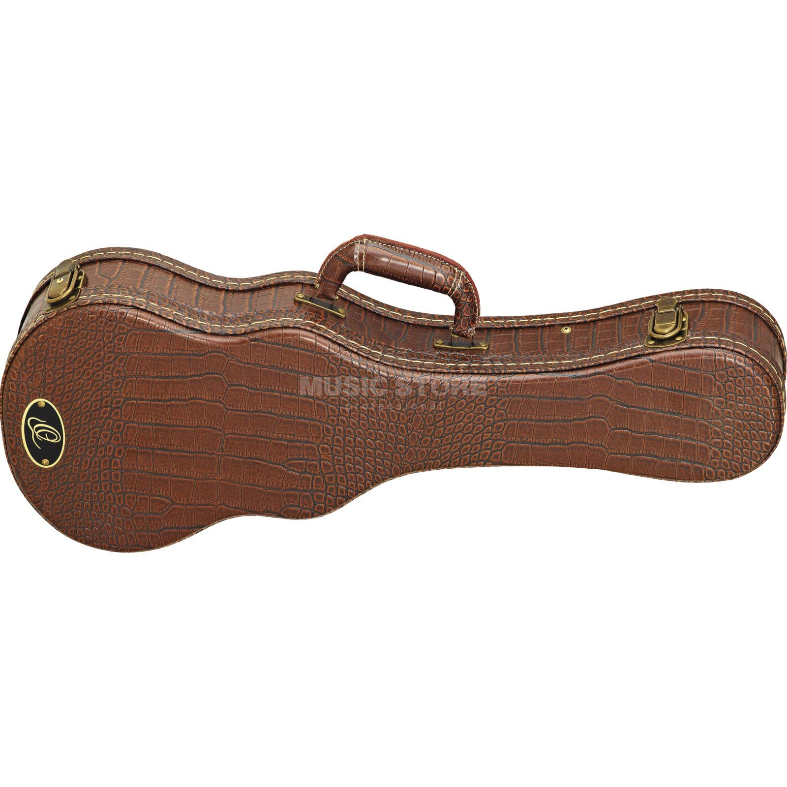 Ortega OUC-CC Ukulele Case Concert Brown Croco Finish Produktbild