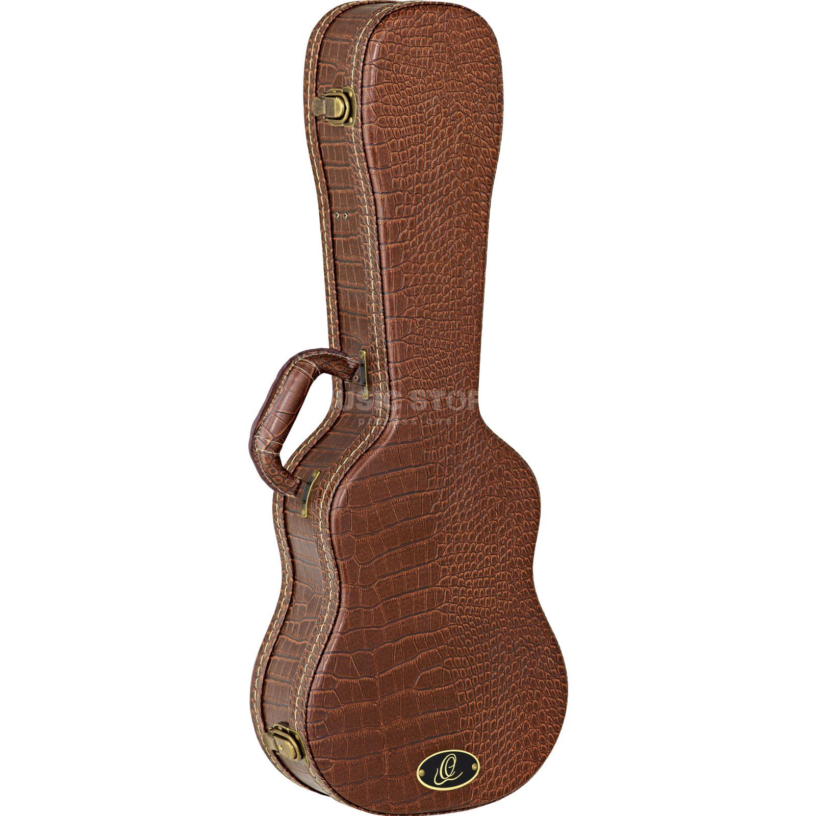 Ortega OUC-TE Ukulele Case Tenor Brown Croco Finish Produktbillede