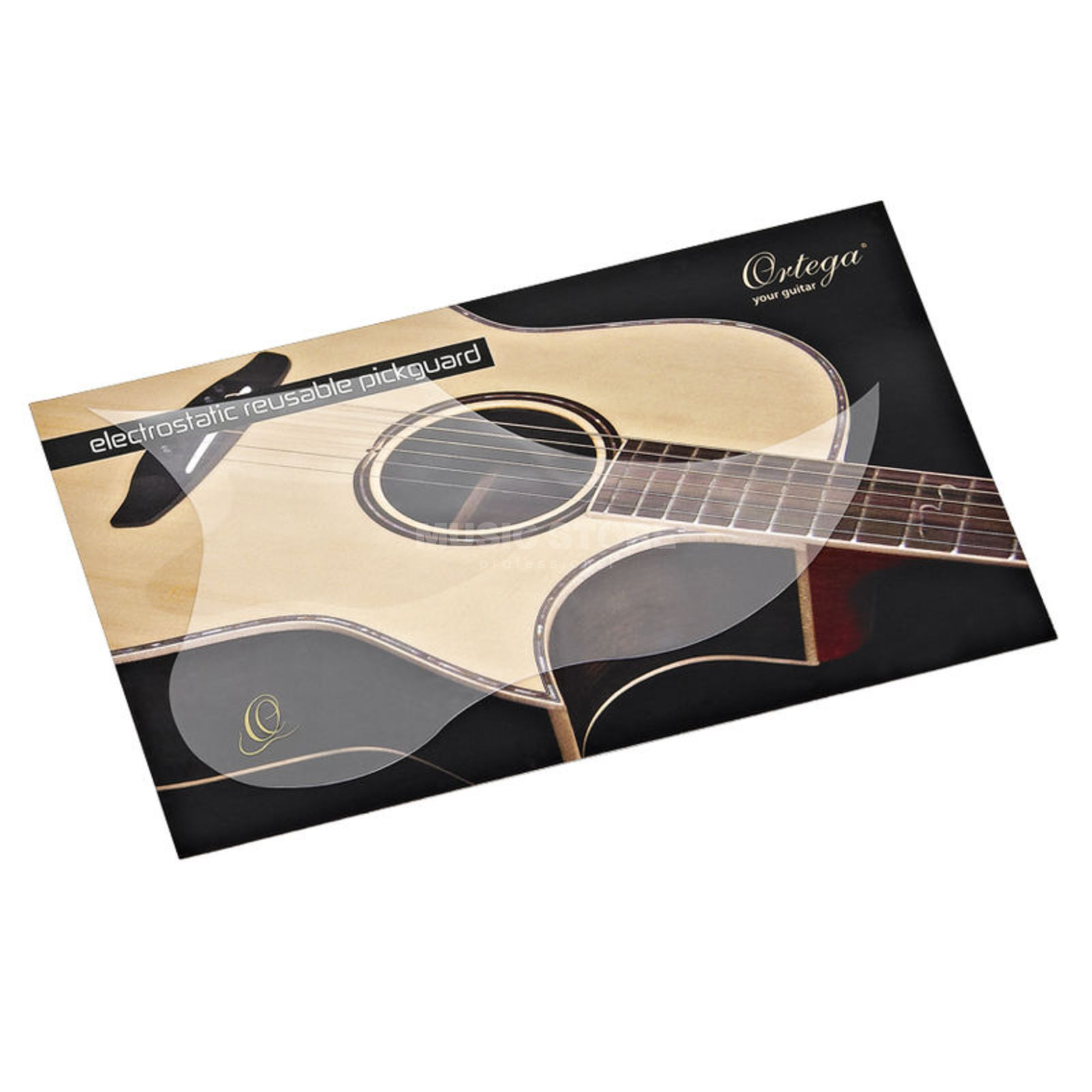 Ortega Reusable Pickguard Acoustic- Guitar Produktbillede