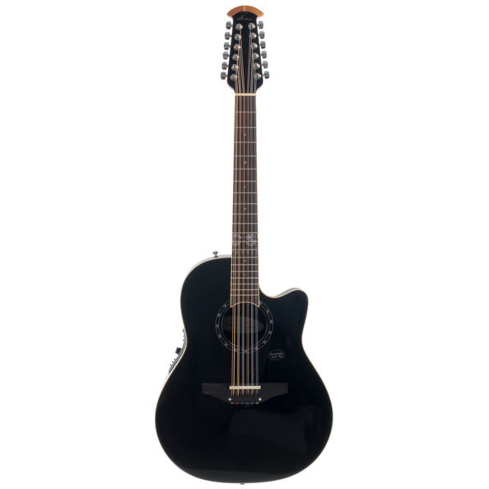 Ovation 2751AX-5 12 String Black Produktbillede