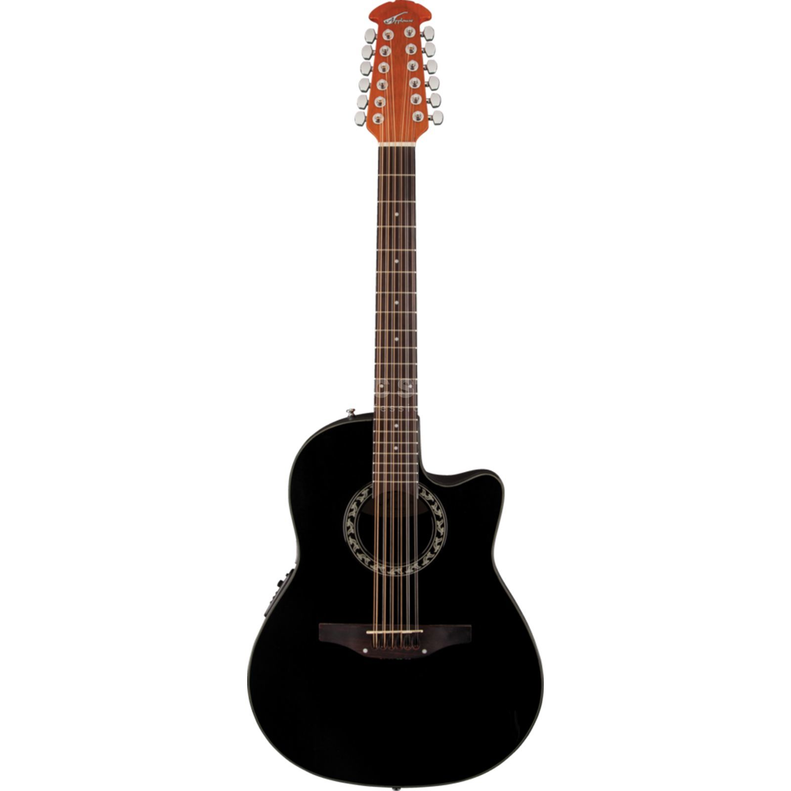 Ovation AB2412-5 Applause Balladeer BK 12 String, Black Produktbild