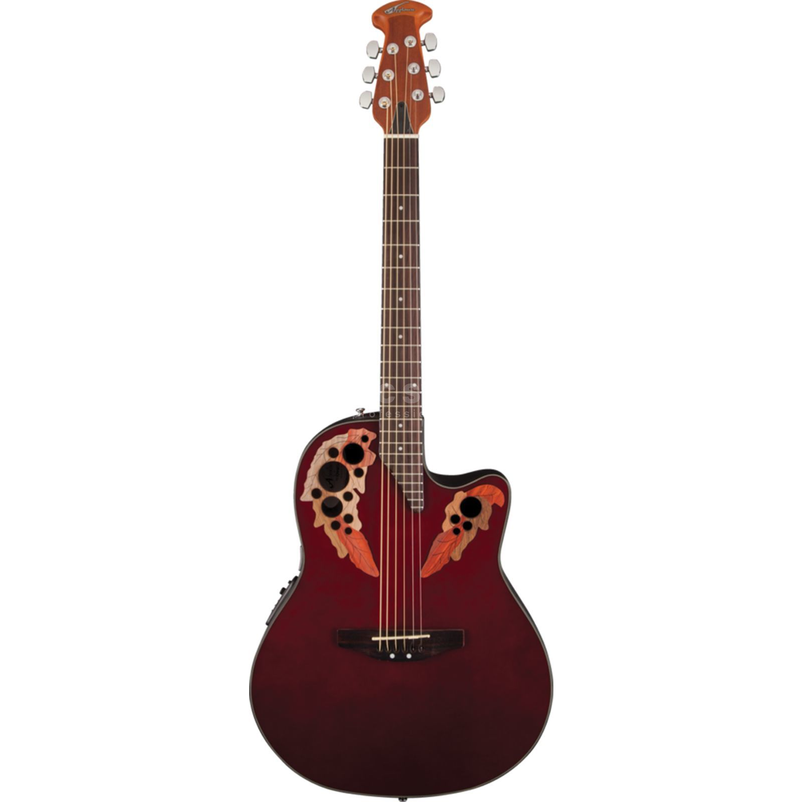 Ovation AE44-RR Applause Elite Ruby Red Produktbild