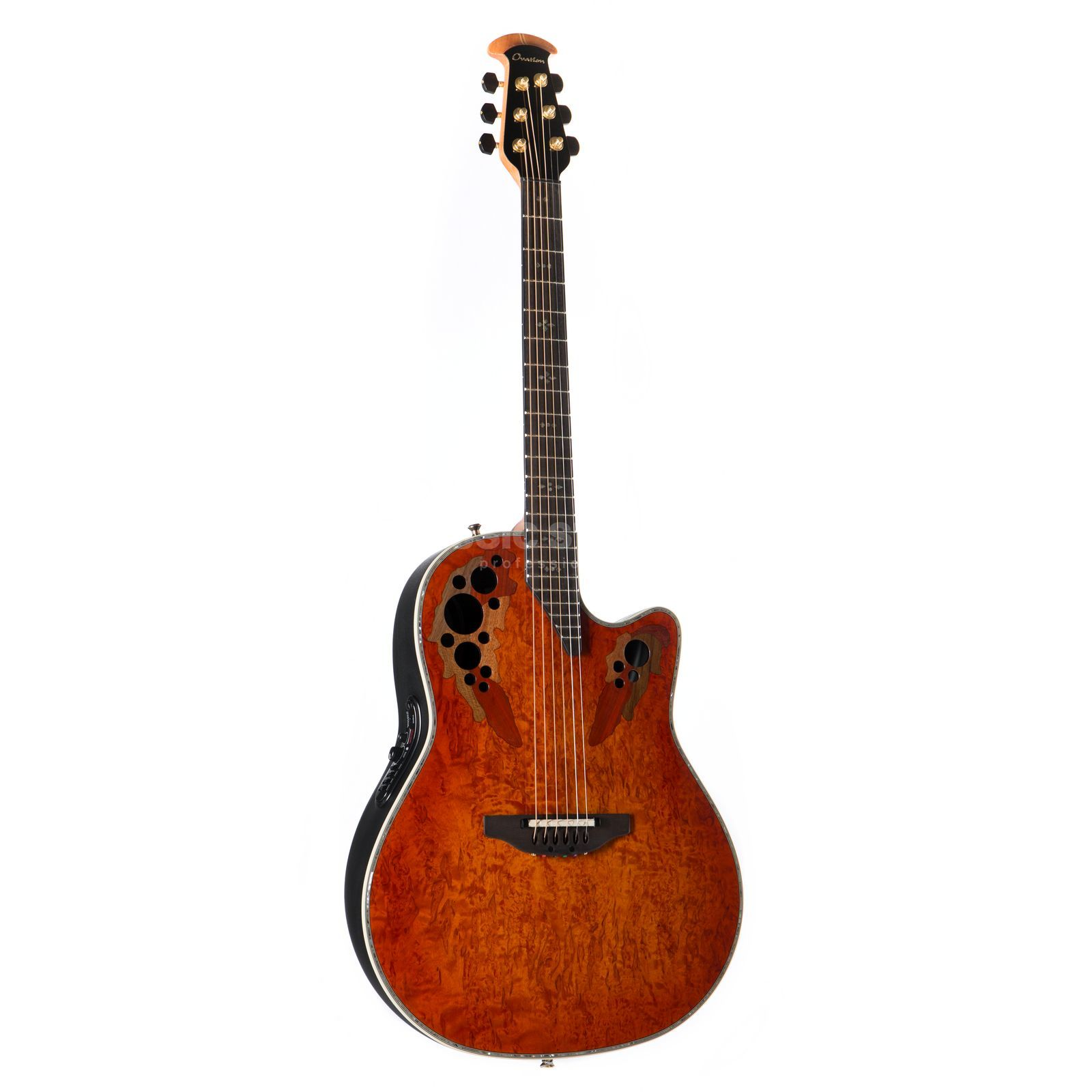 Ovation C2078AXP-OBK Limited Elite Plus Karelian Birch Produktbillede