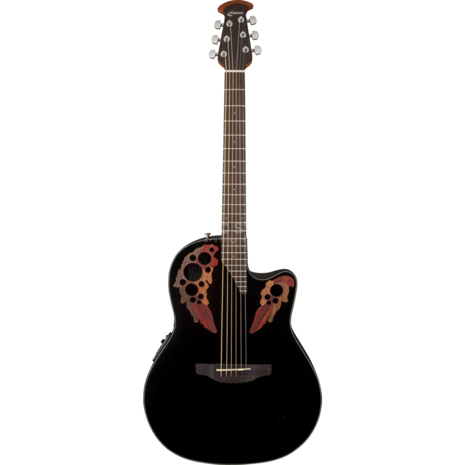 Ovation CE44-5 Celebrity Elite BK Black Produktbild