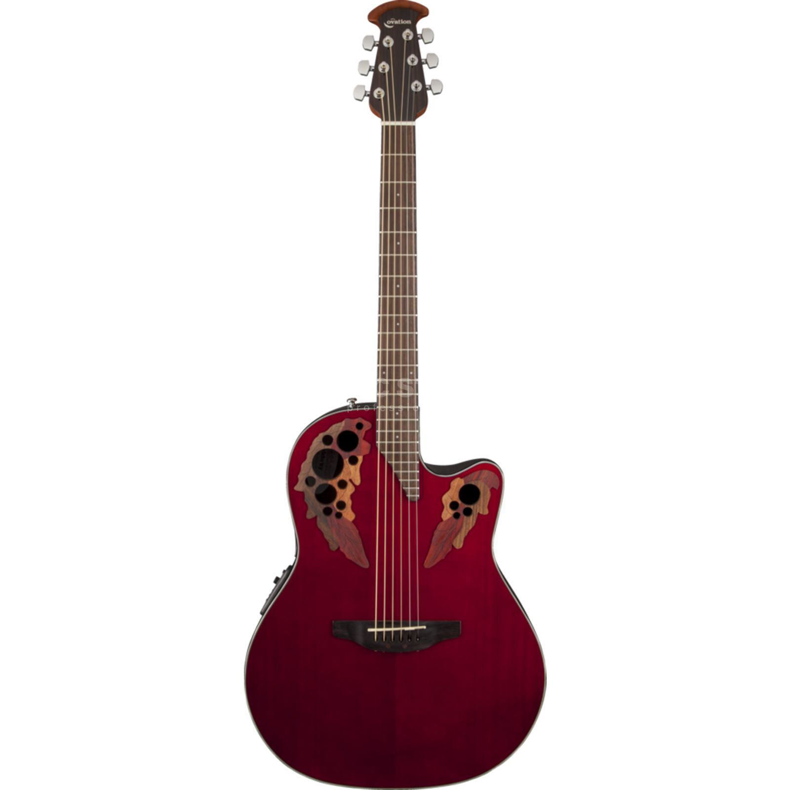 Ovation CE44-RR Celebrity Elite Ruby Red Produktbillede