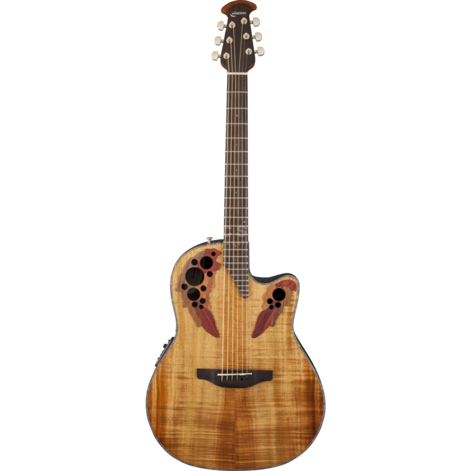 Ovation CE44P-FKOA Celebrity Elite Flamed Koa Produktbillede