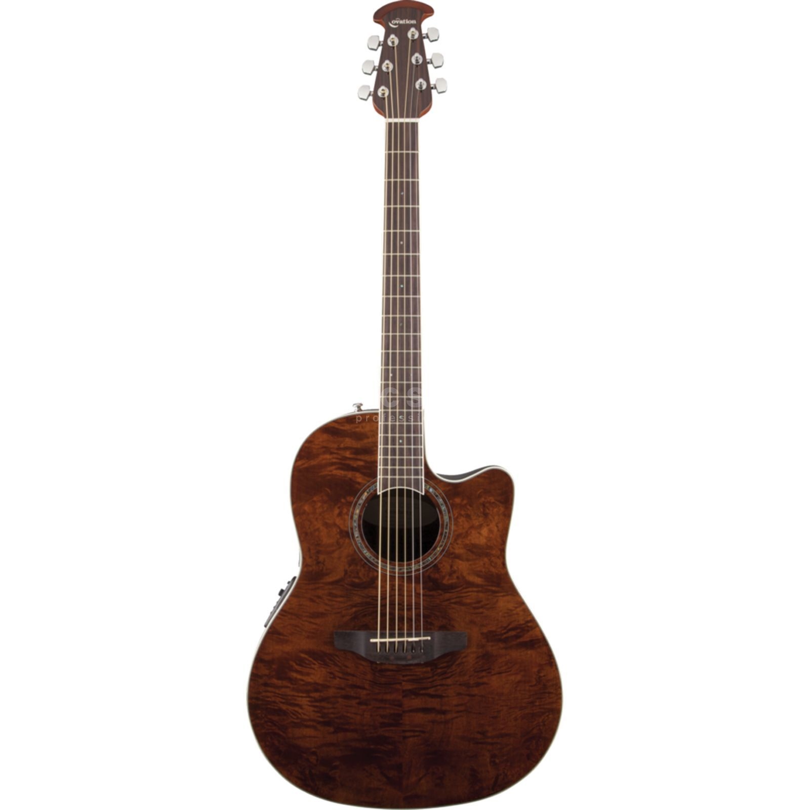 Ovation CS24P-NBM Celebrity Std. Plus Nutmeg Burled Maple Produktbild