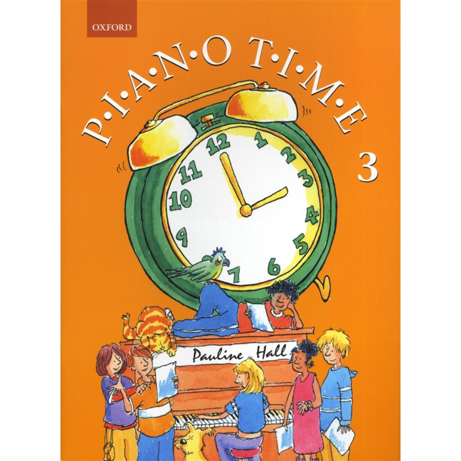 Oxford University Press Piano Time 3 Pauline Hall Produktbillede
