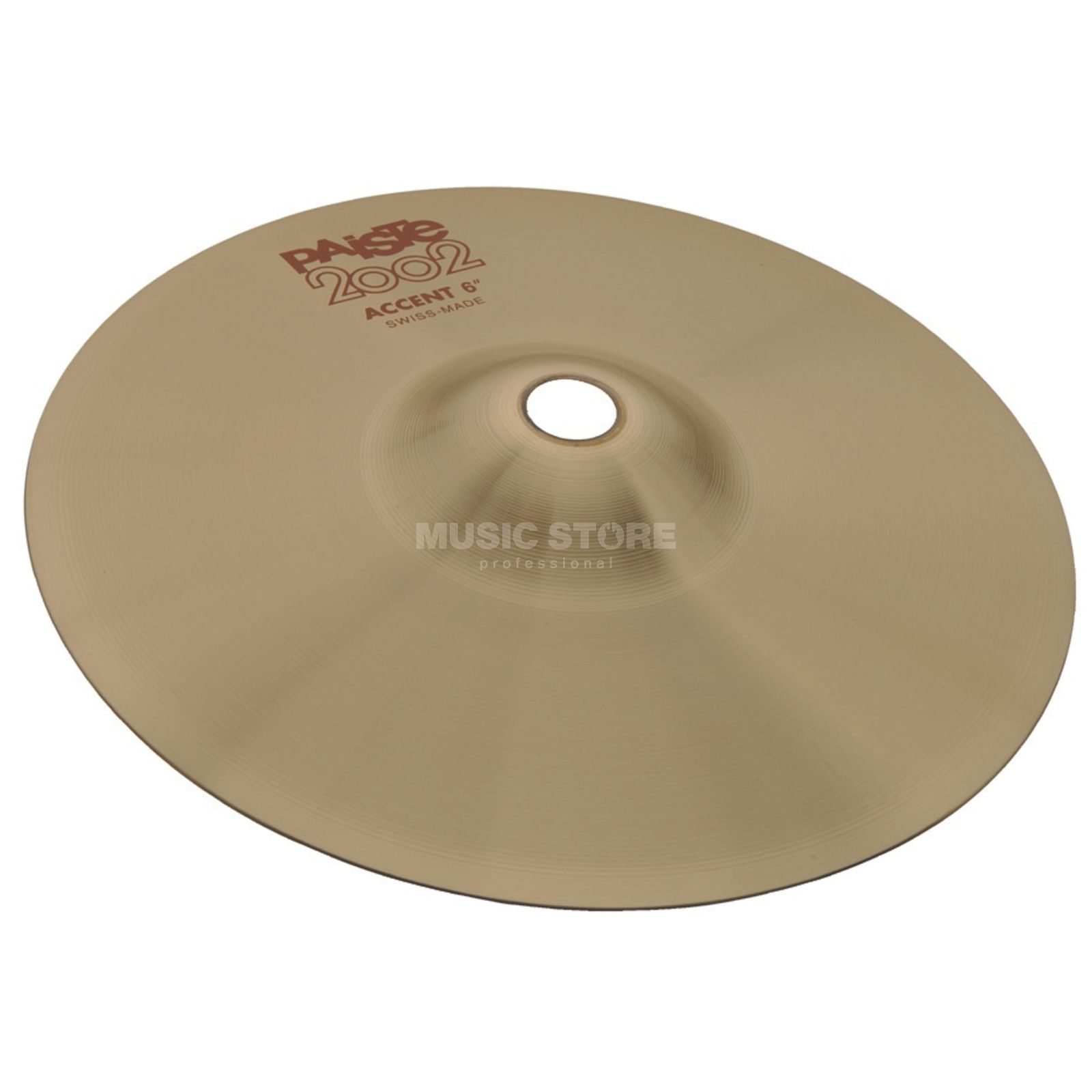 "Paiste 2002 Accent Cymbal 6""  Imagen del producto"