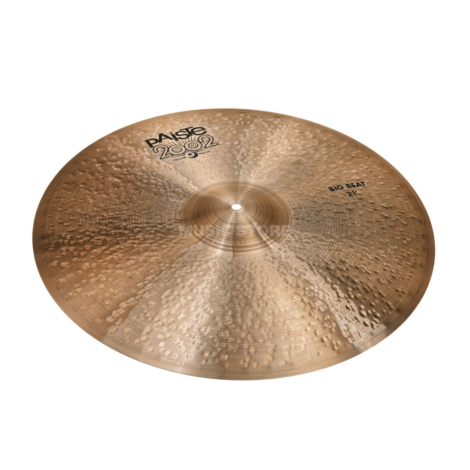 "Paiste 2002 Black Big Beat 21"" Product Image"
