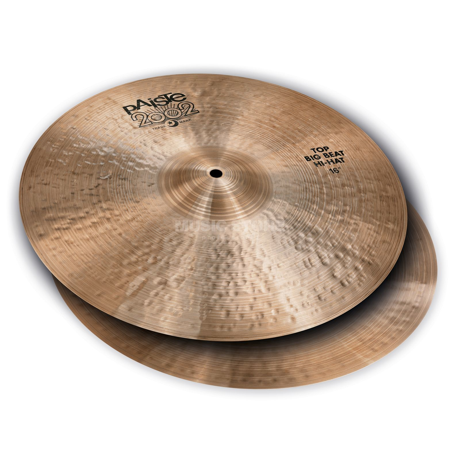 "Paiste 2002 Black Big Beat HiHat, 16"" Product Image"