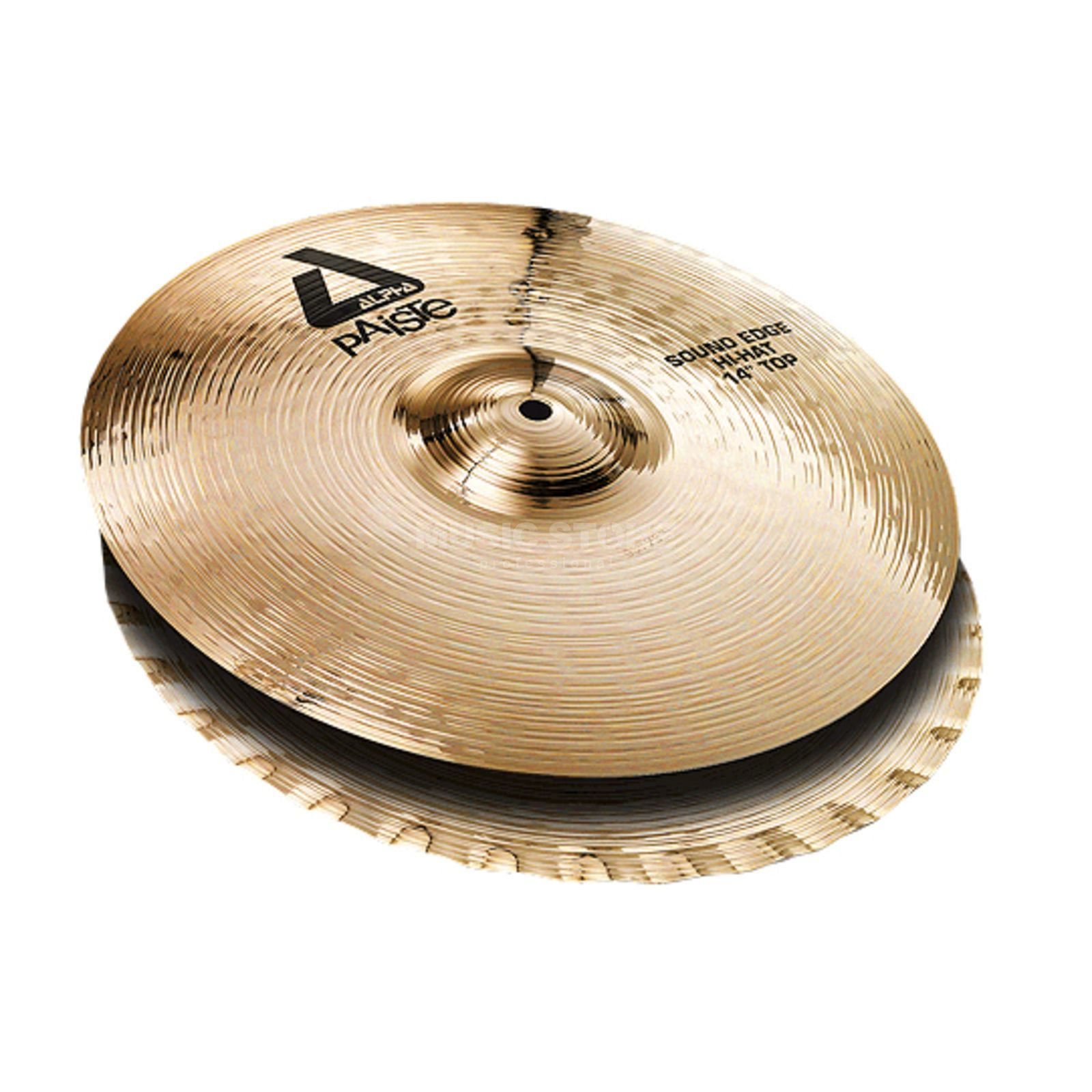 "Paiste Alpha Sound Edge HiHat 14"", Brilliant Product Image"