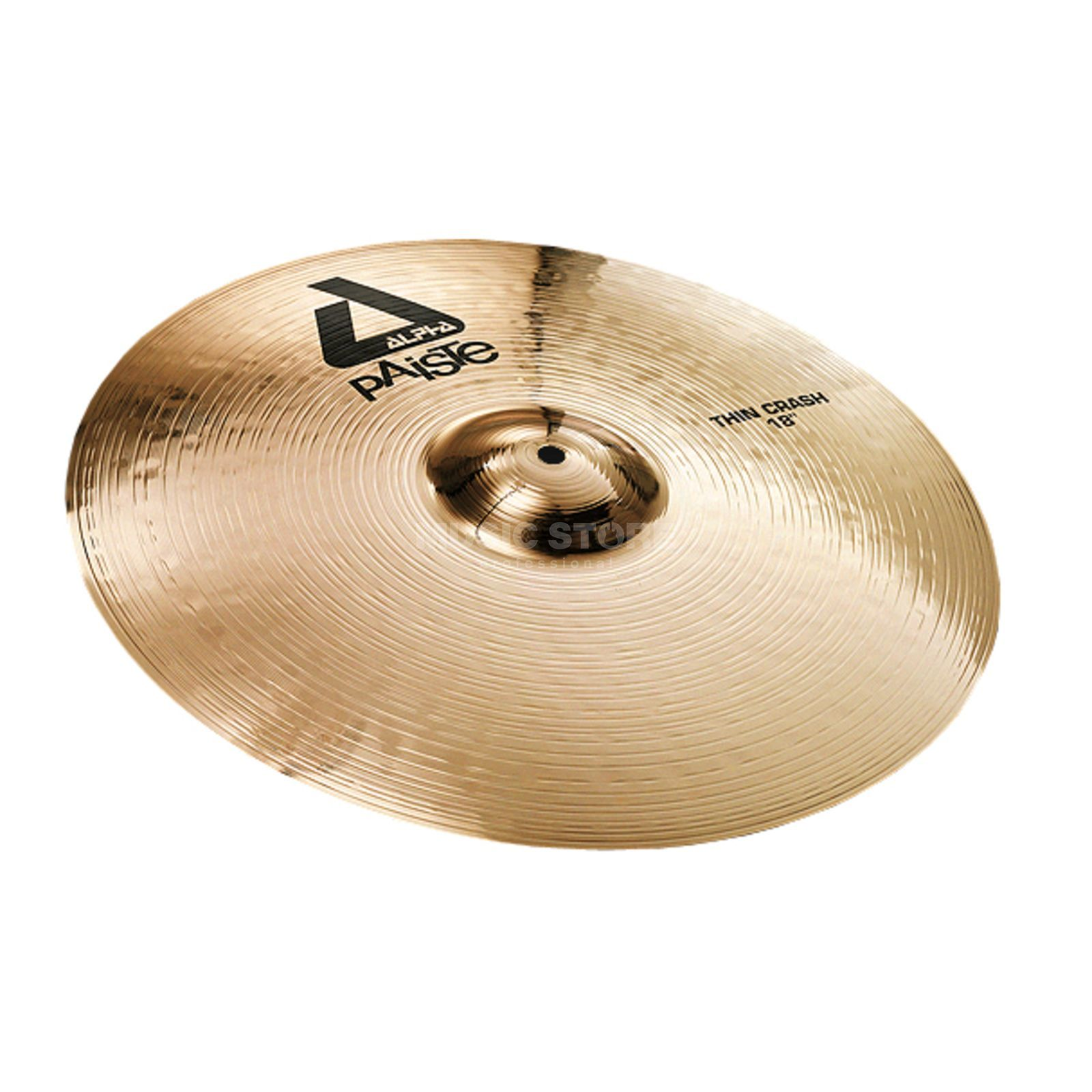 "Paiste Alpha Thin Crash 18"", Brilliant Produktbillede"