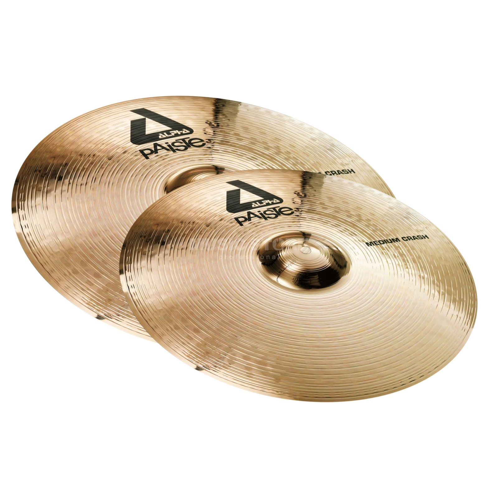 "Paiste Alpha Twin Crash Pack Medium 16"" + 18"" Produktbillede"