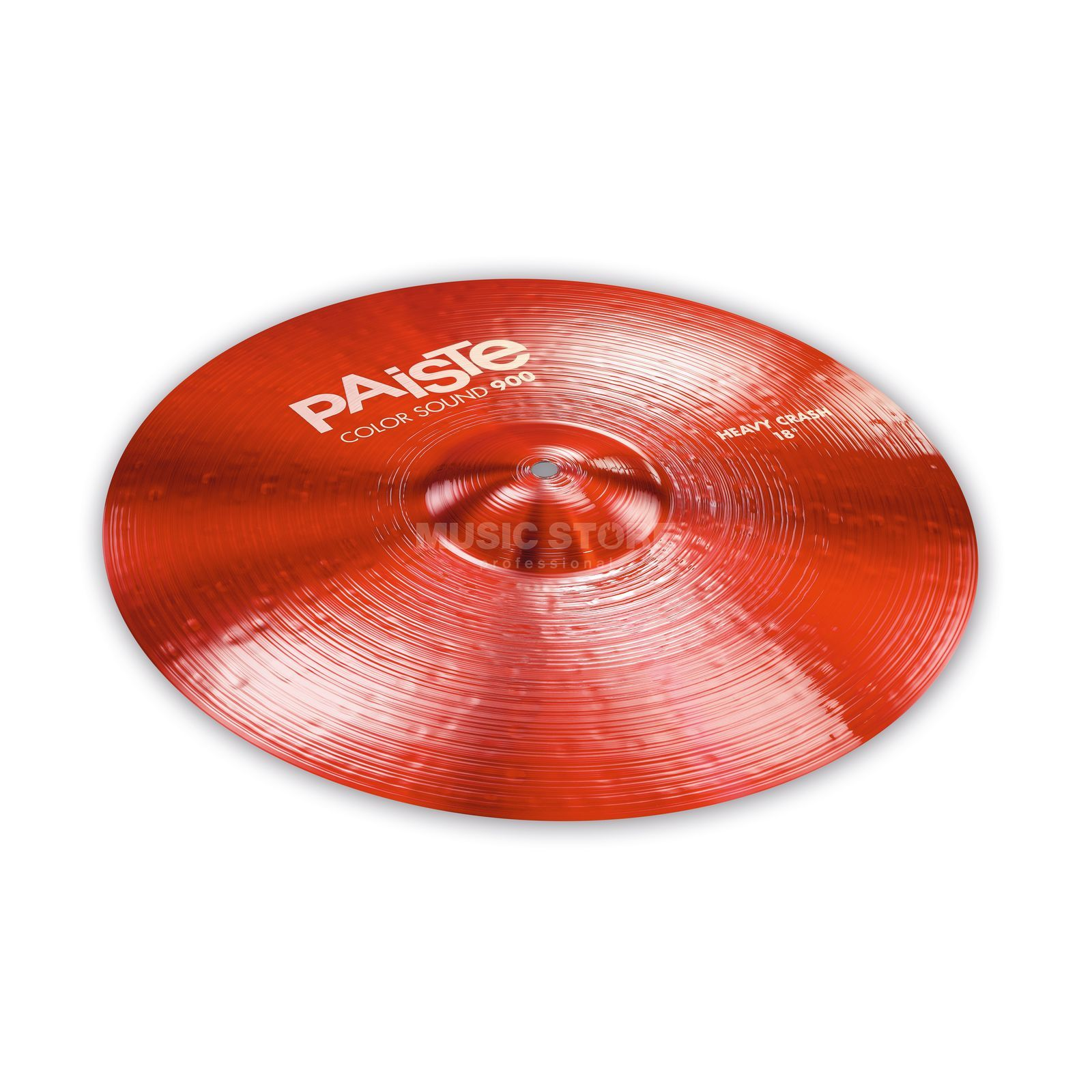 "Paiste CS 900 Heavy Crash 18"" Color Sound Red Product Image"