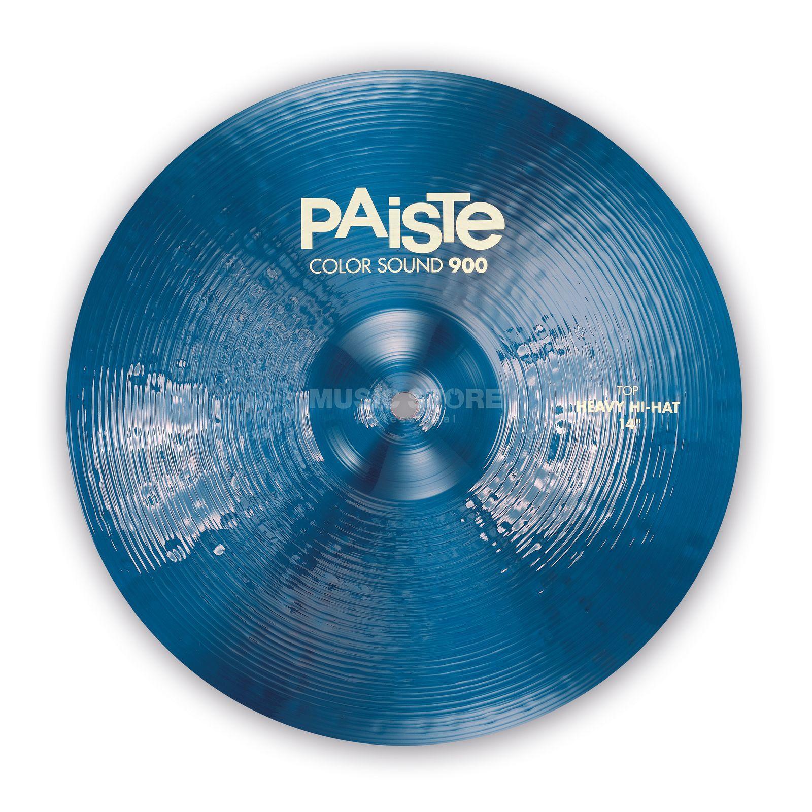 paiste cs 900 heavy hihat 14 color sound blue