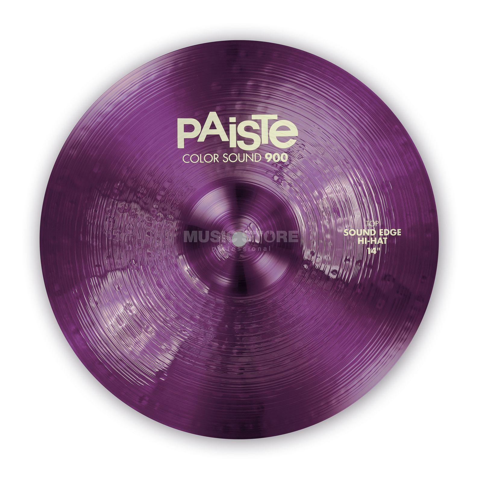 paiste cs 900 sound edge hihat 14 color sound purple