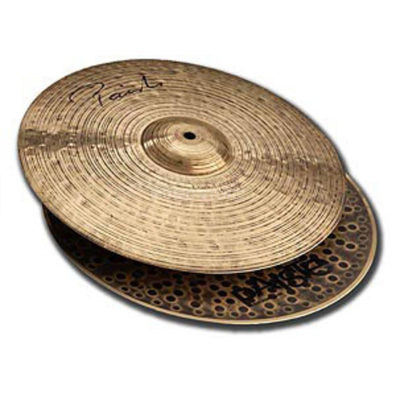 "Paiste New Signature HiHat 14"" Dark Energy MK I Productafbeelding"
