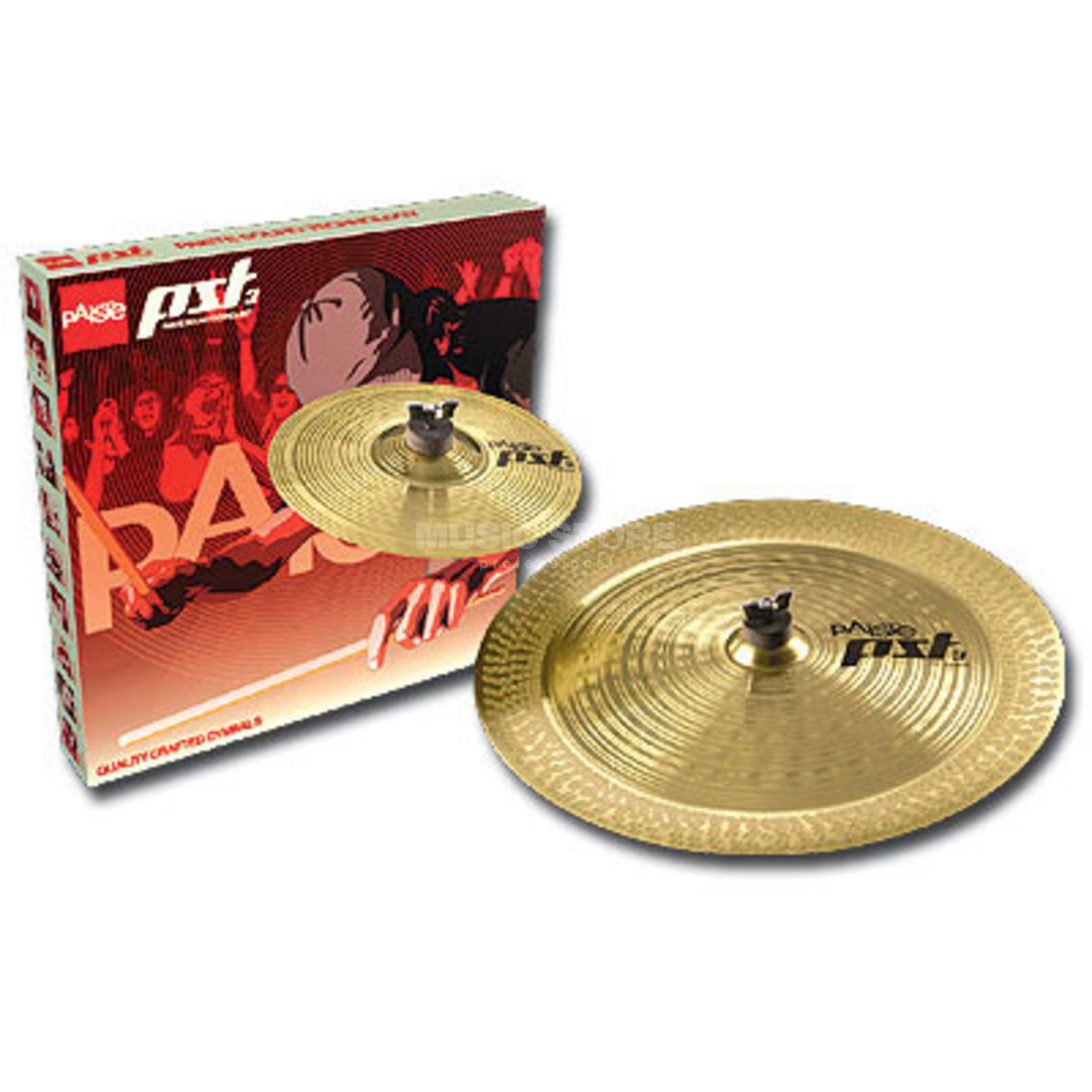 "Paiste PST3 Cymbal Set ""Effects"" 10"" Splash, 18"" China Produktbillede"