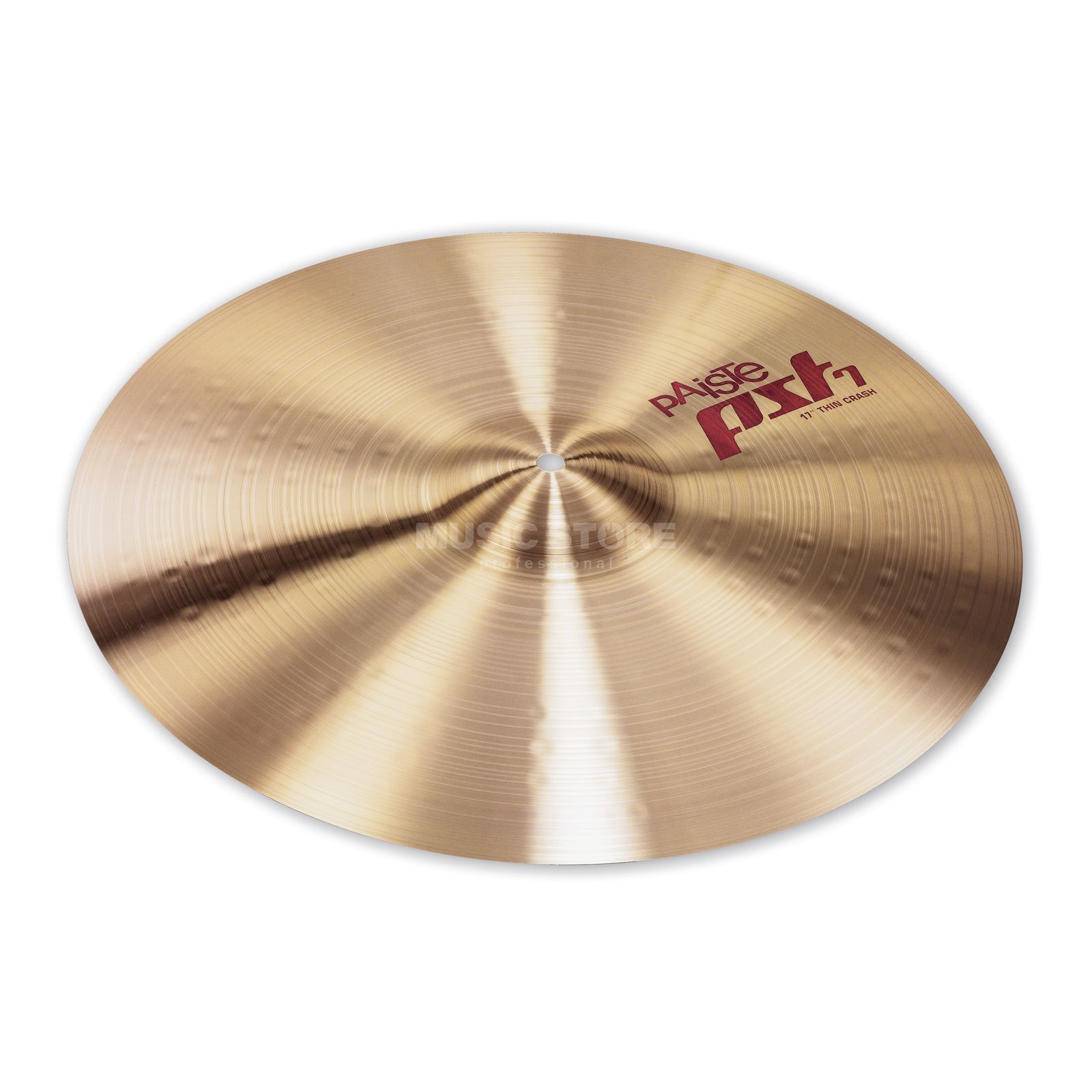 "Paiste PST7 Thin Crash 17"" Product Image"