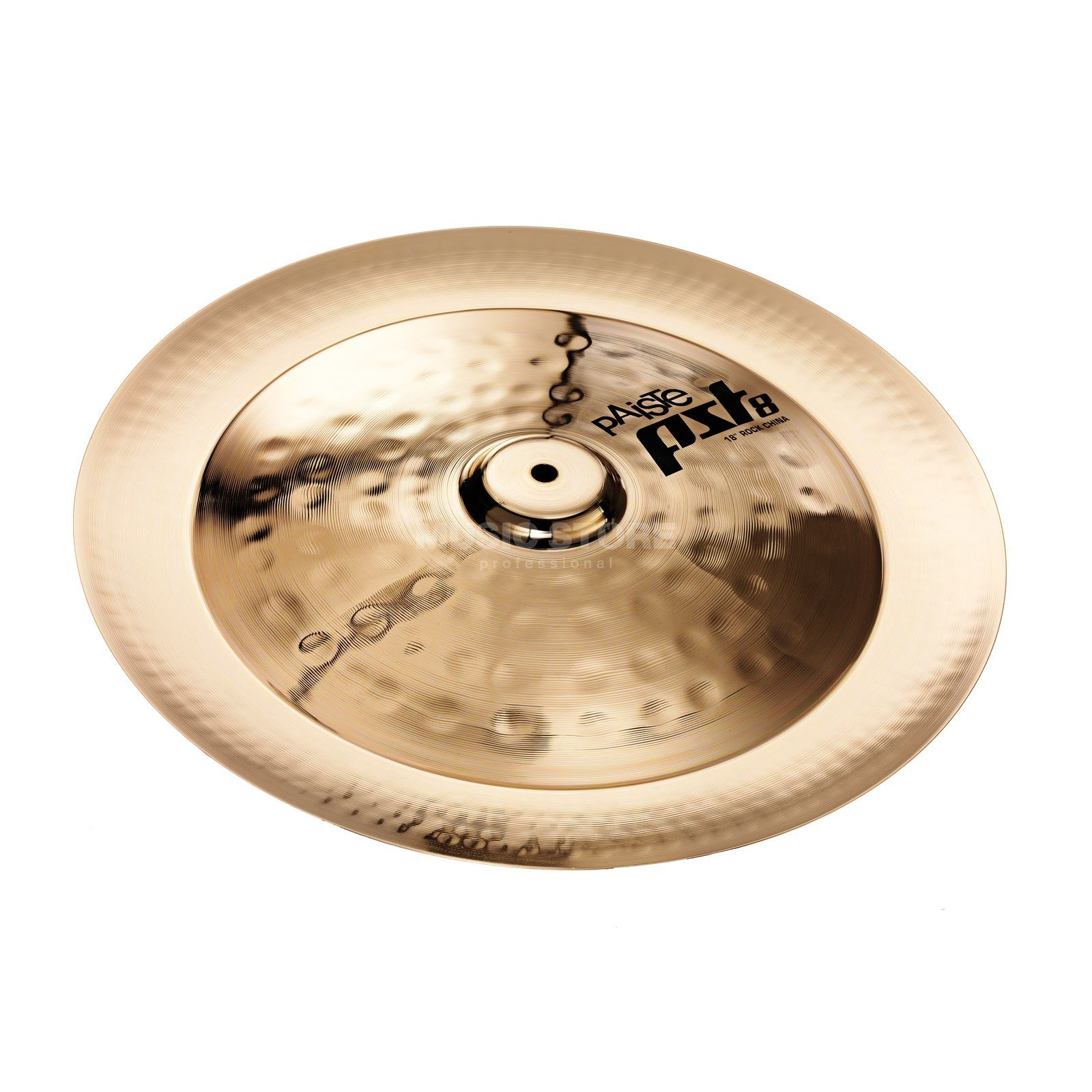 "Paiste PST8 Rock China 18"", Reflector Finish Product Image"