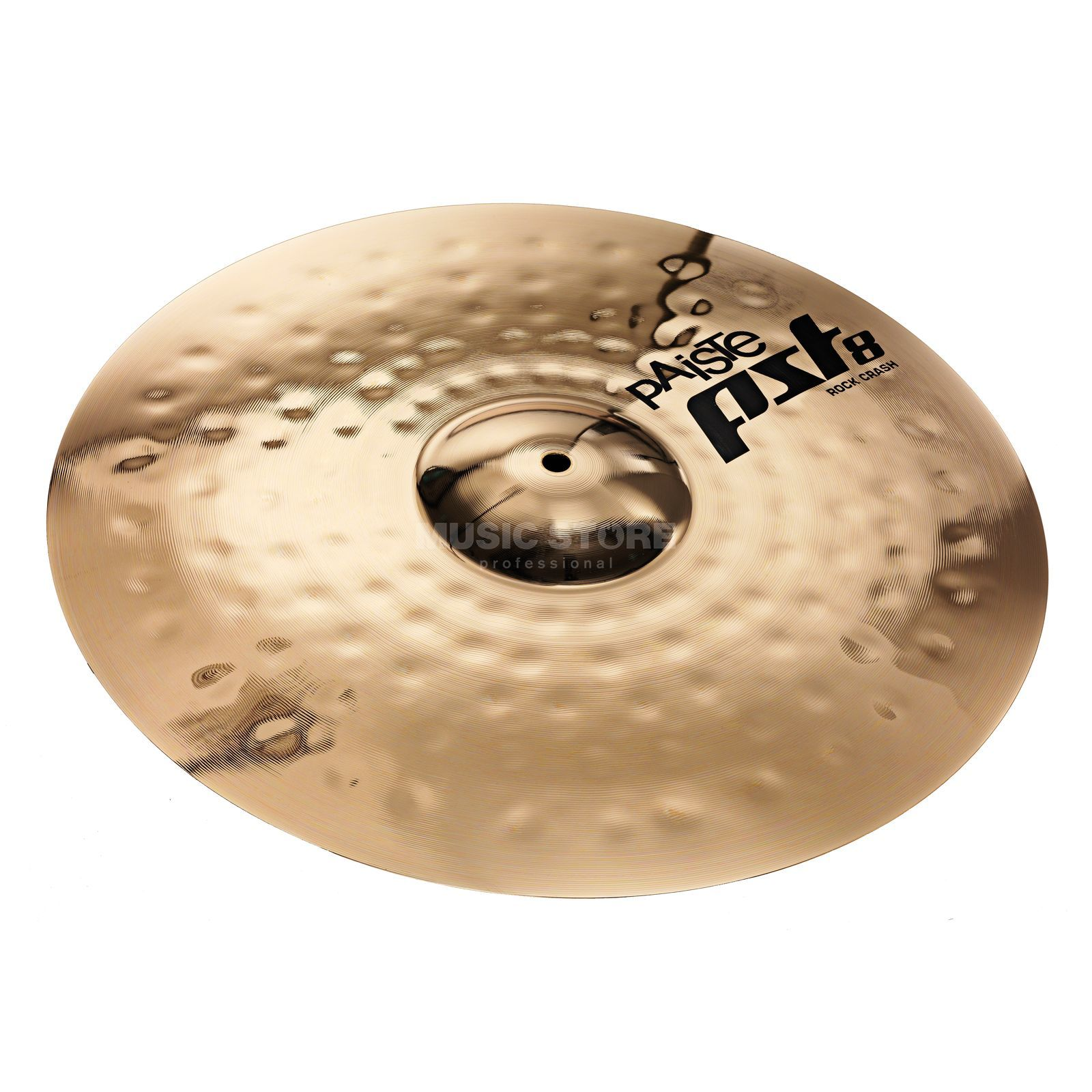 "Paiste PST8 Rock Crash 16"", finition Reflector Image du produit"