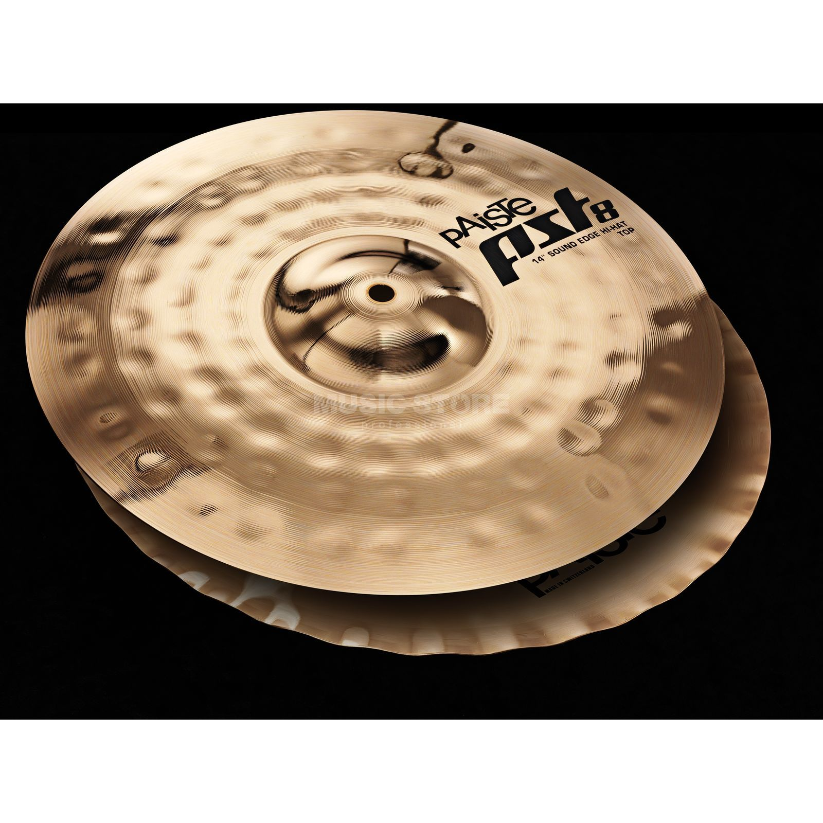 "Paiste PST8 Sound Edge HiHat 14"", Reflector Finish Produktbillede"