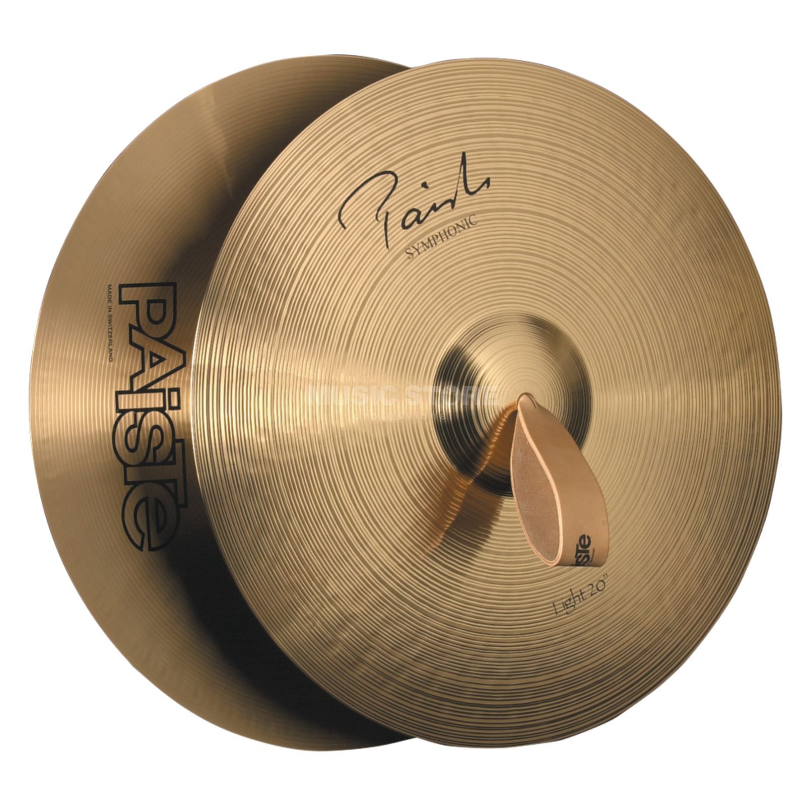 "Paiste Symphonic Orchestra Cymbals, 20"", Medium Light Изображение товара"